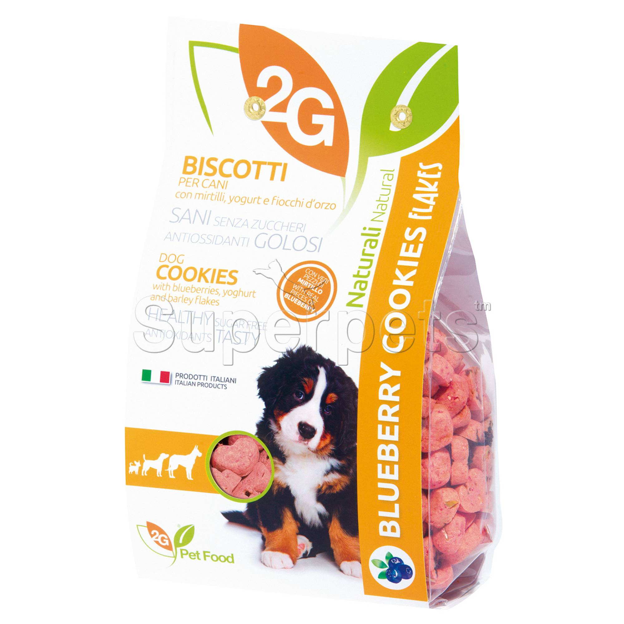 2G Pet Food - Blueberry Dog Cookies 350g