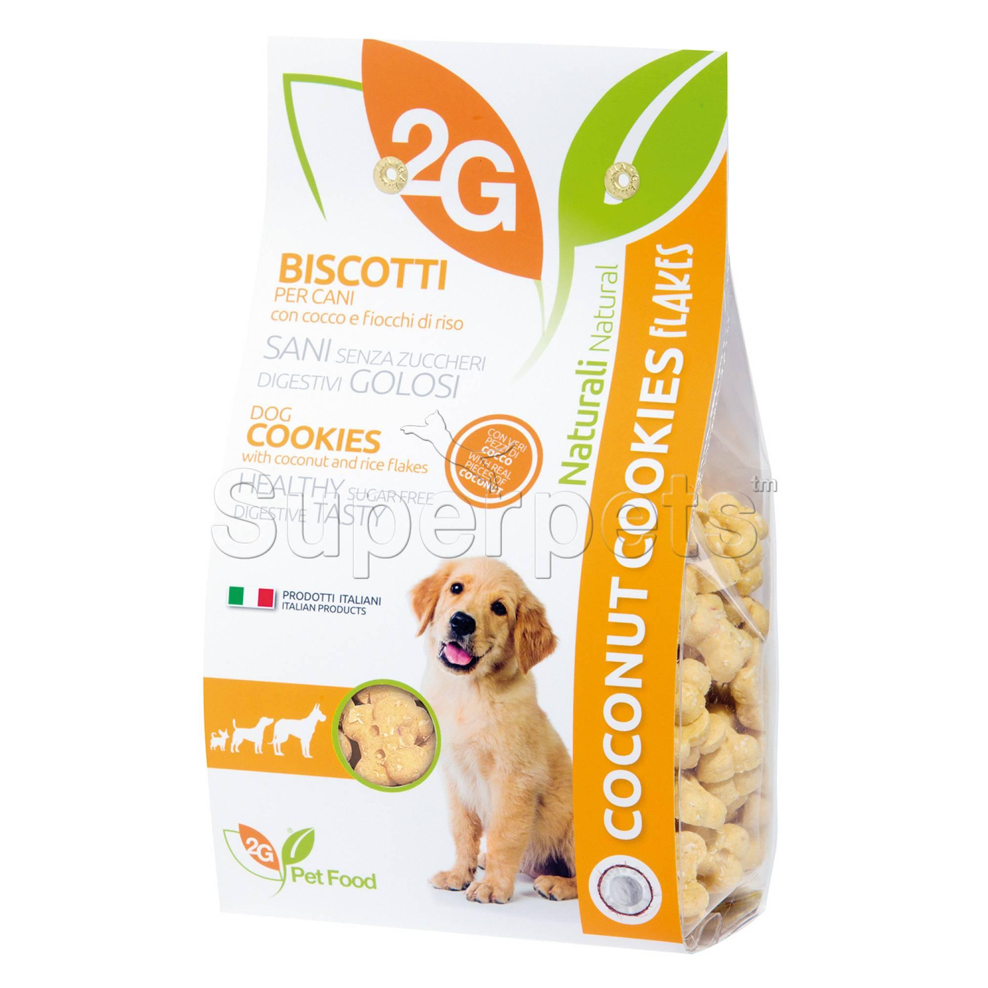 2G Pet Food - Coconut & Rice Dog Cookies 350g