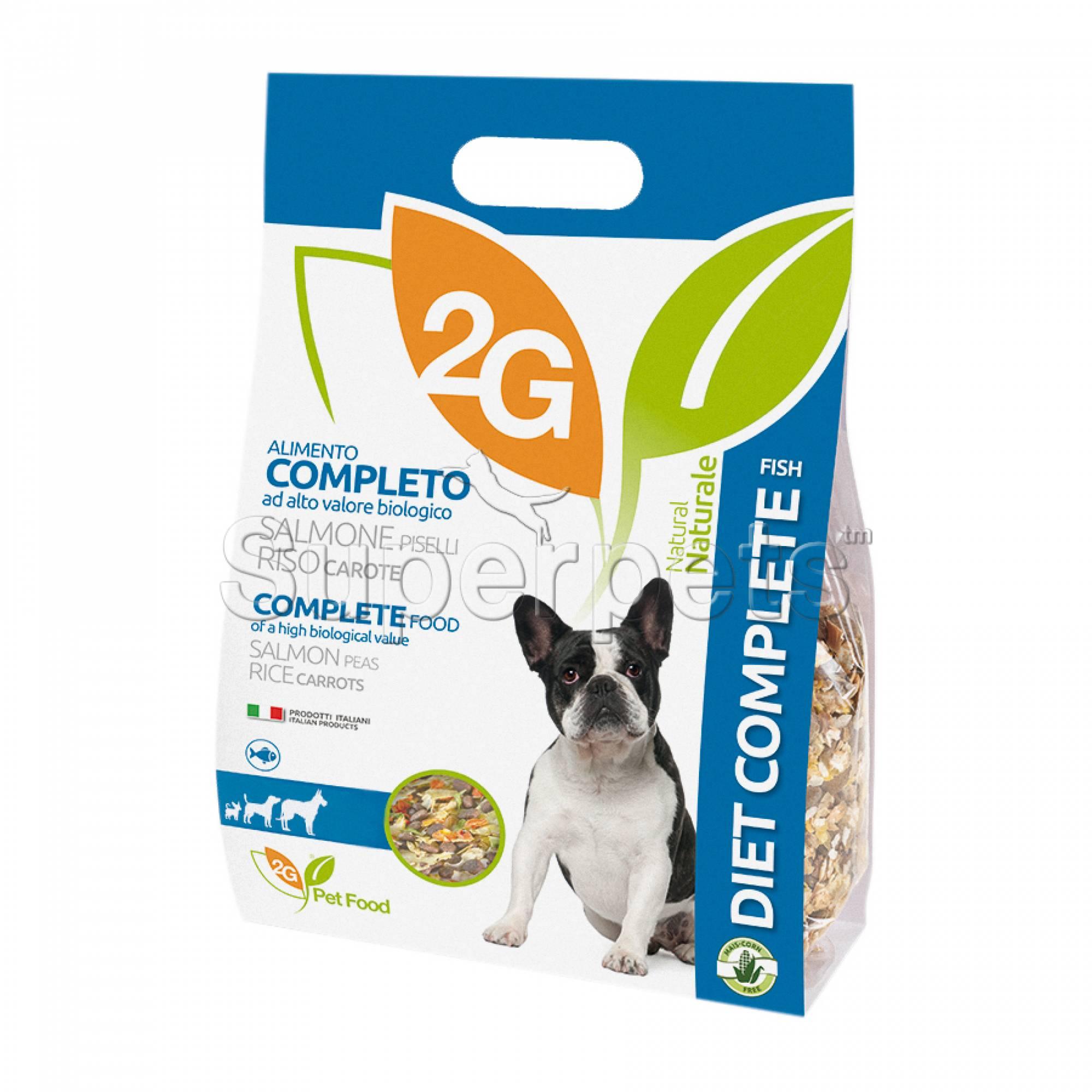 2G Pet Food - Diet Complete Fish 2kg