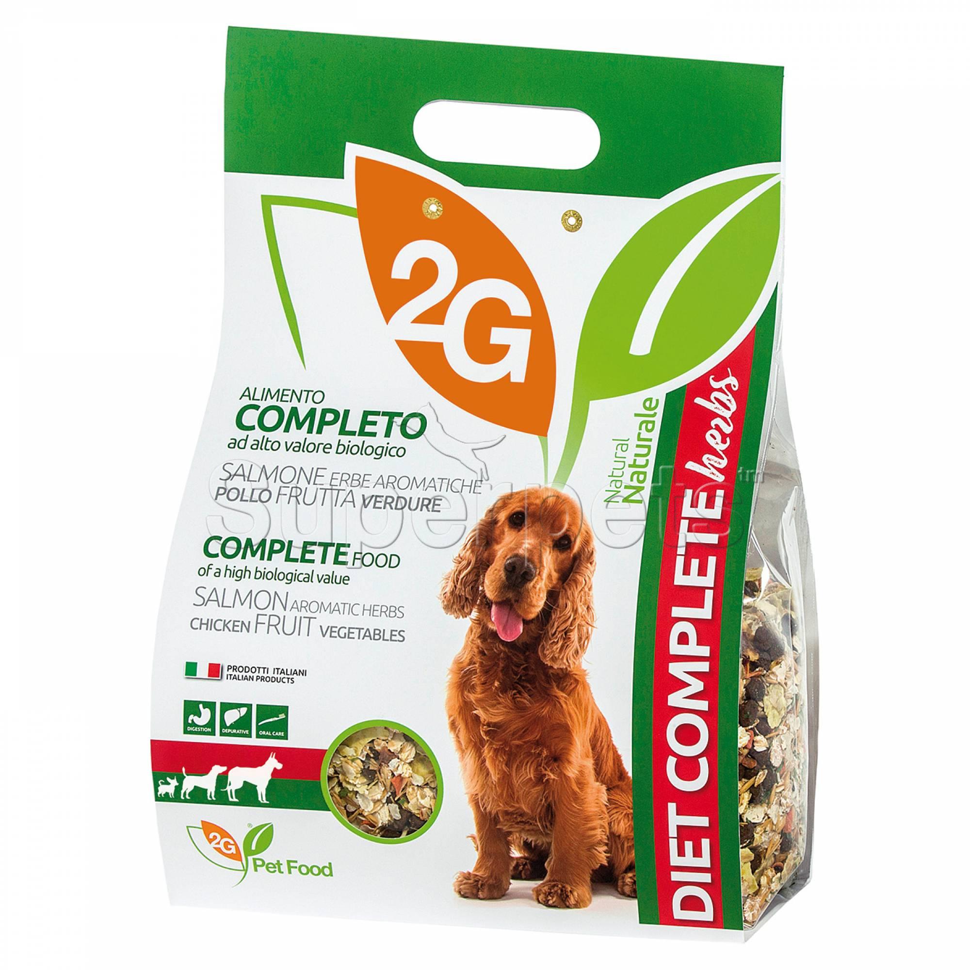 2G Pet Food - Diet Complete Herbs 2kg