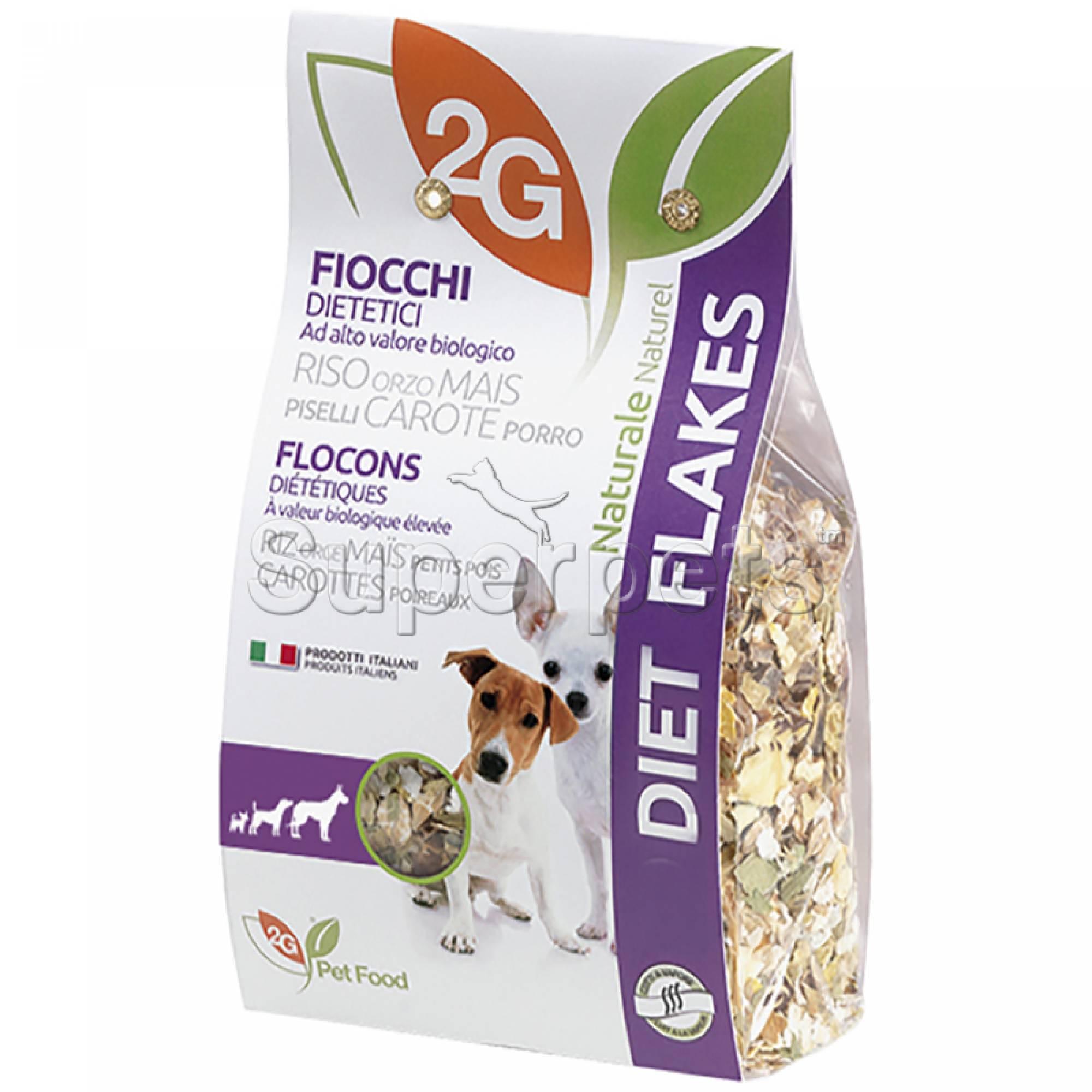 2G Pet Food - Diet Flakes 350g