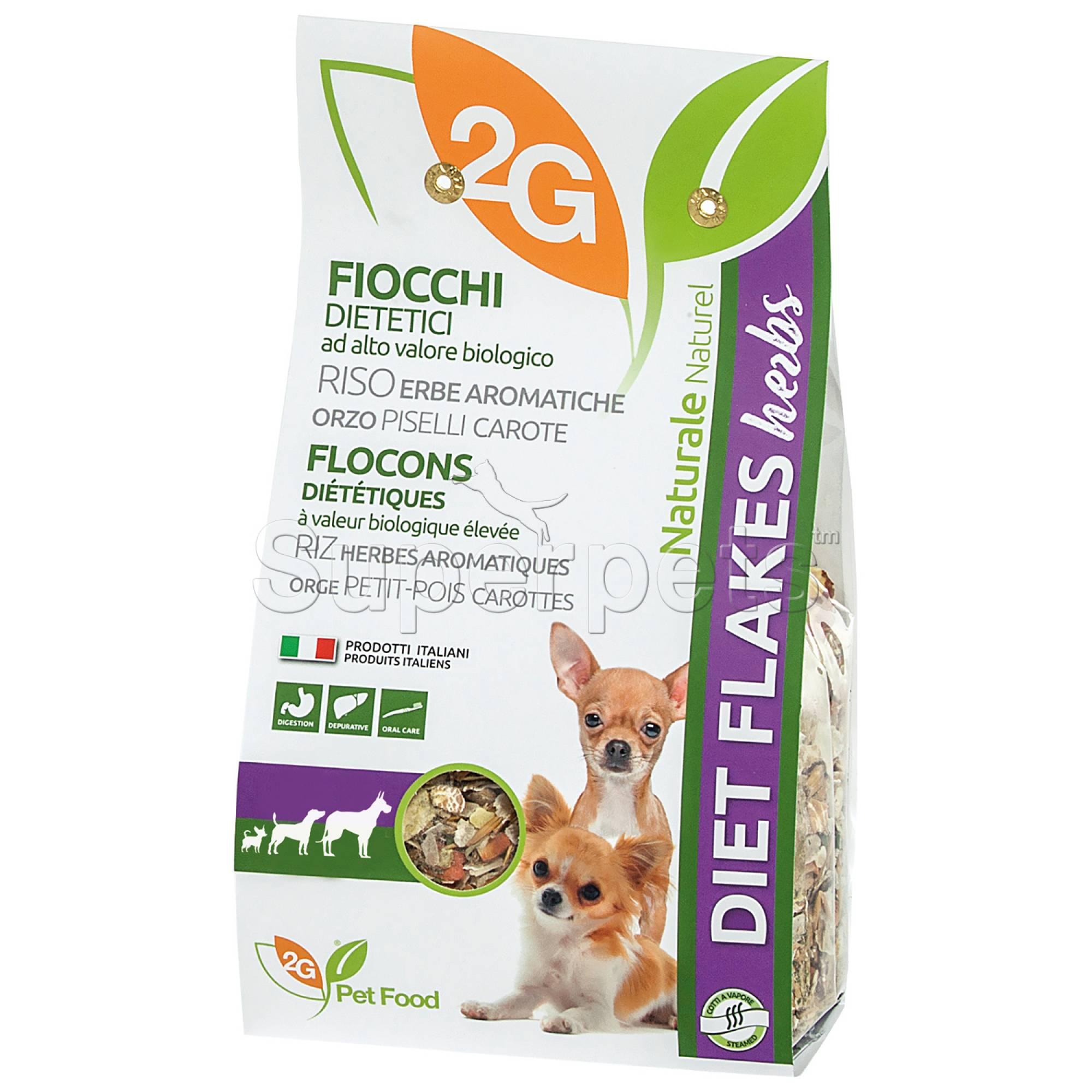 2G Pet Food - Diet Flakes Herbs 350g