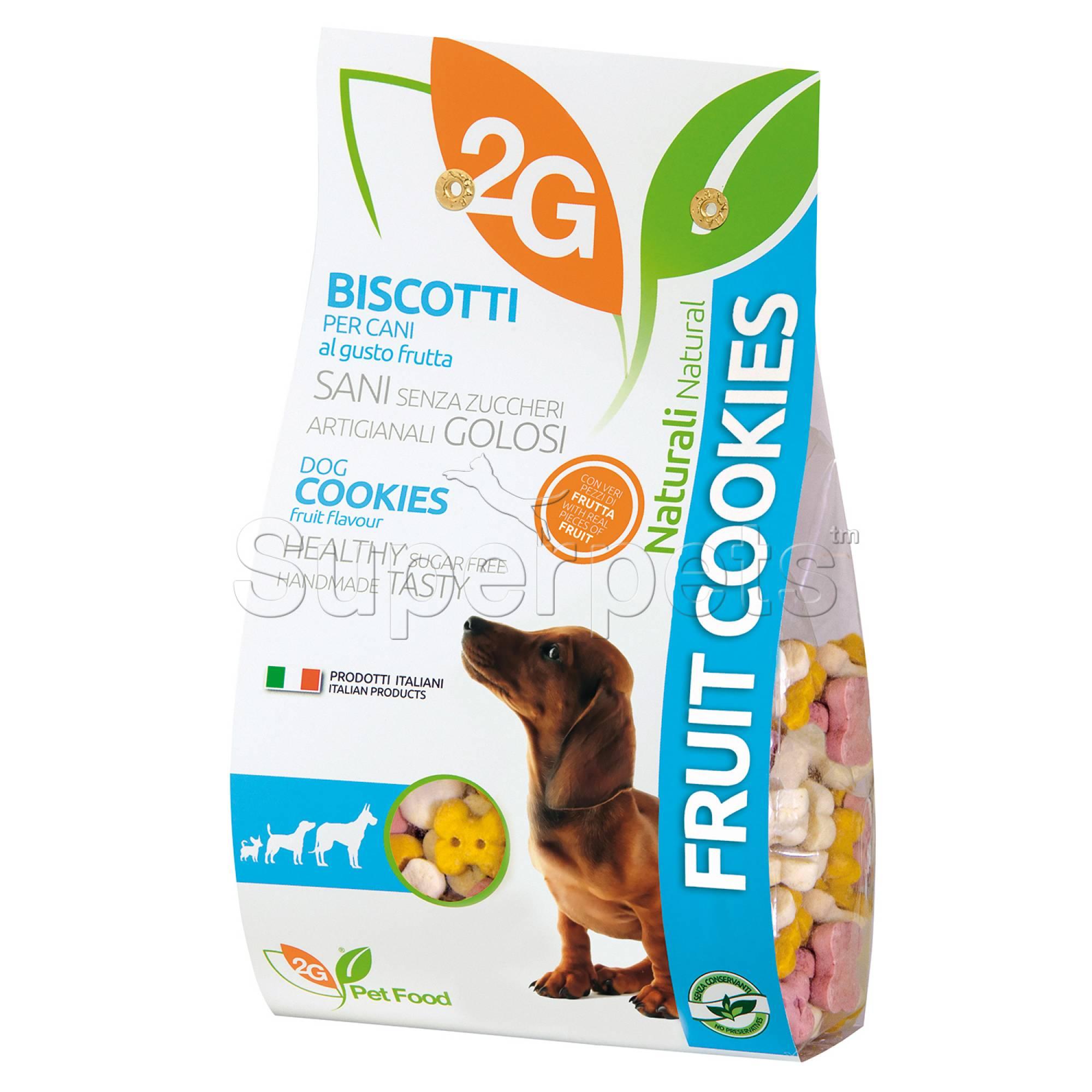 2G Pet Food - Mixed Fruit Dog Cookies 350g