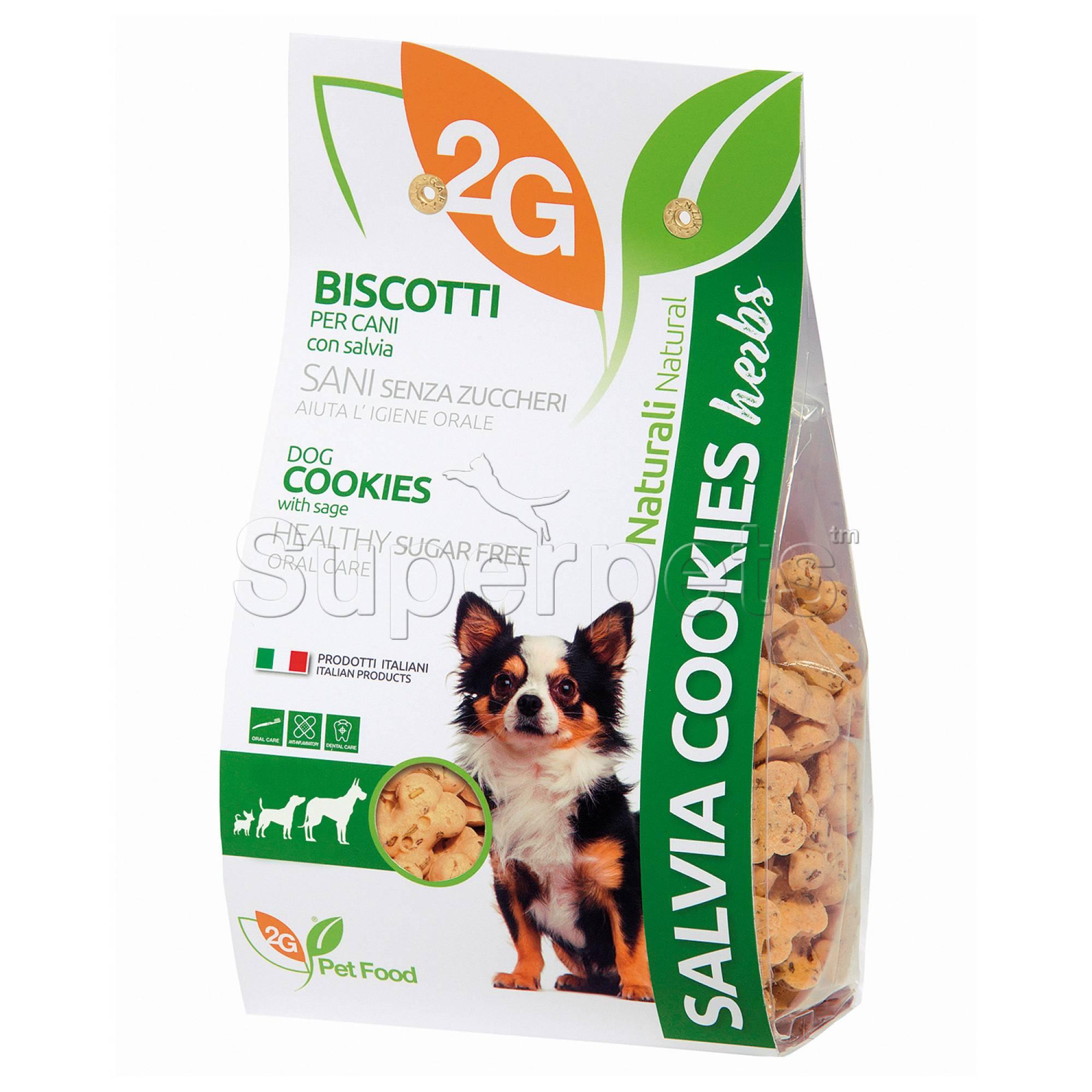 2G Pet Food - Salvia (Sage) Dog Cookies 350g
