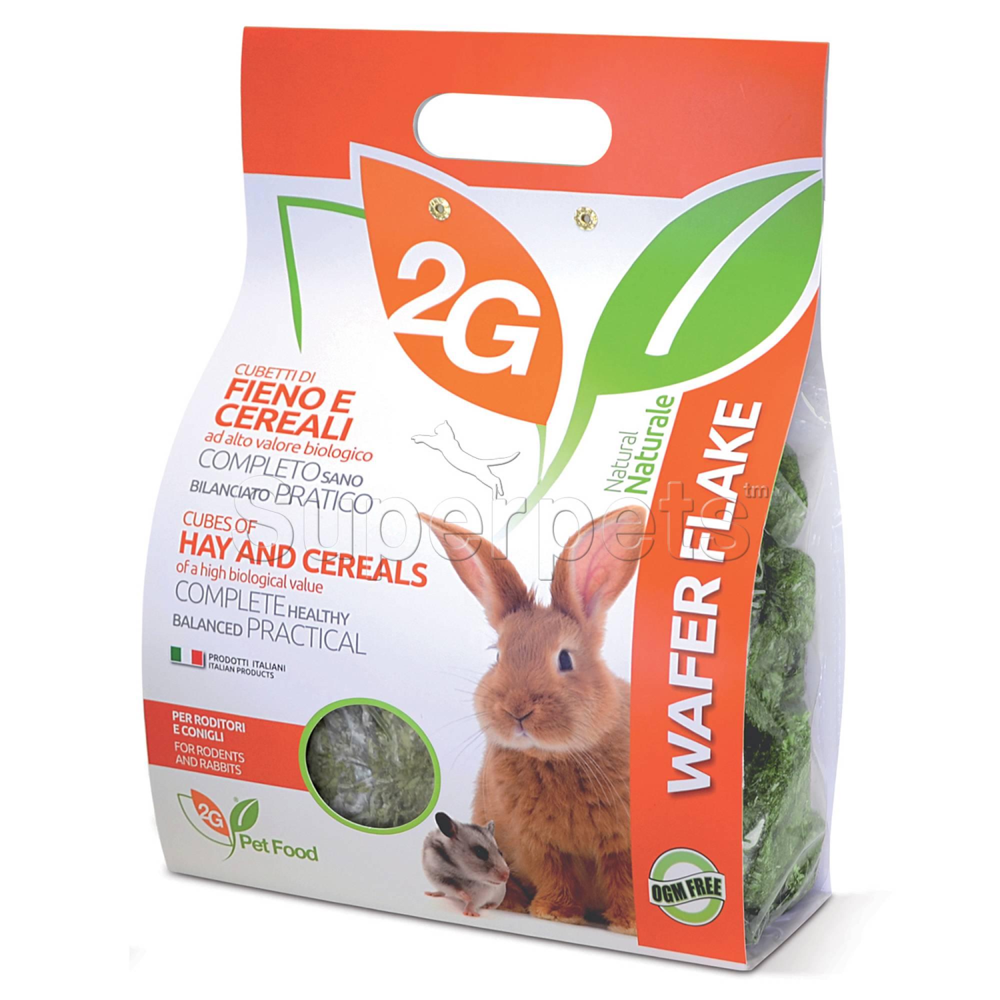 2G Pet Food - Wafer Flake 2kg