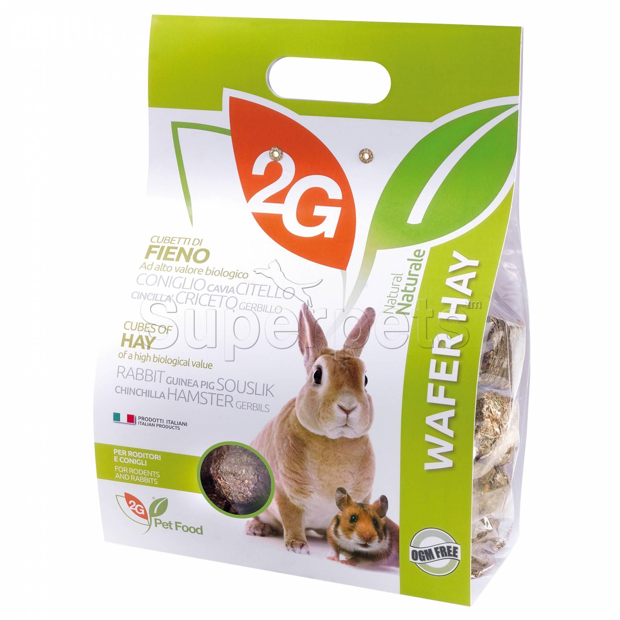 2G Pet Food - Wafer Hay 2kg