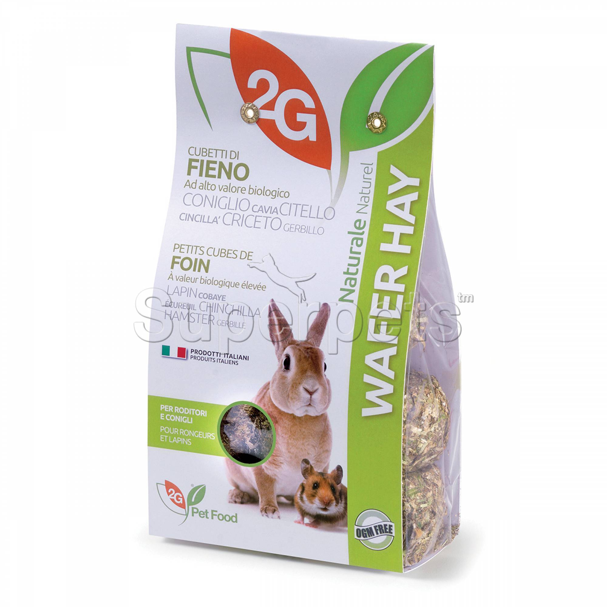 2G Pet Food - Wafer Hay 350g