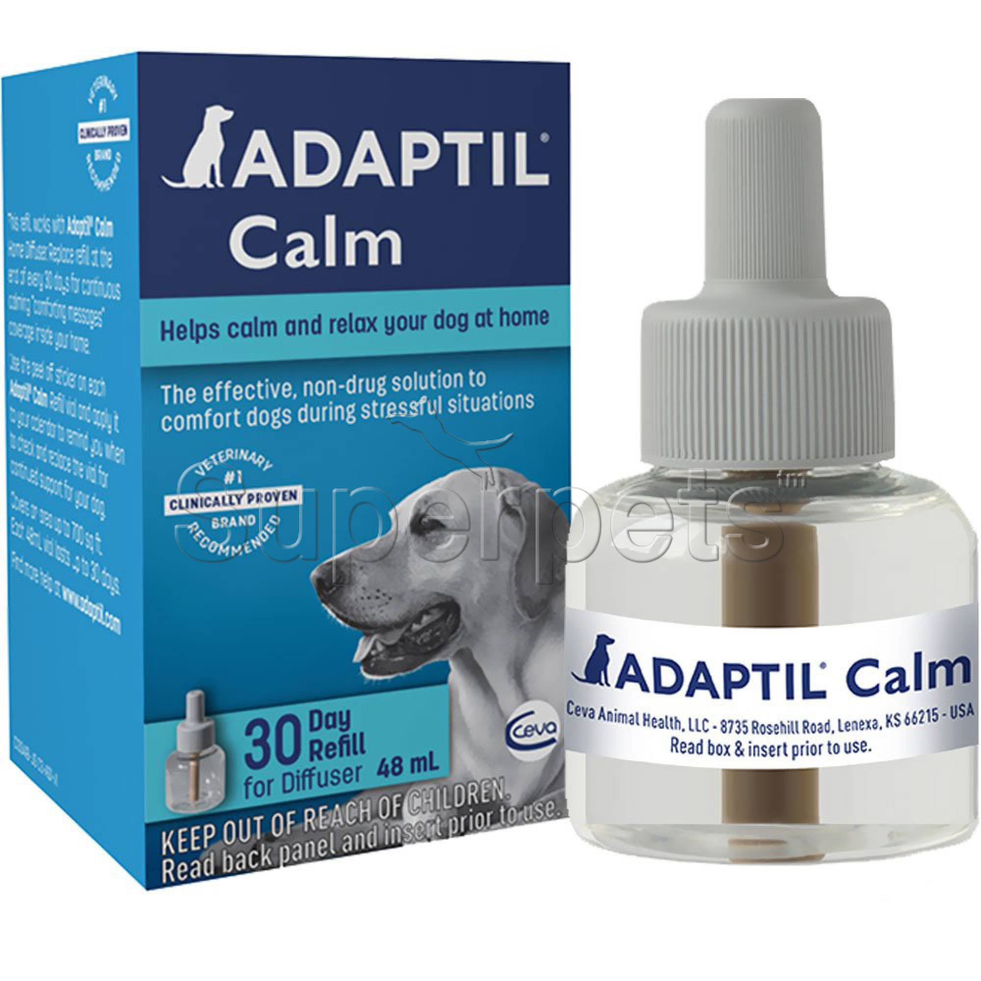 Adaptil Calm Home 30 Day Refill Vial for Diffuser 48ml