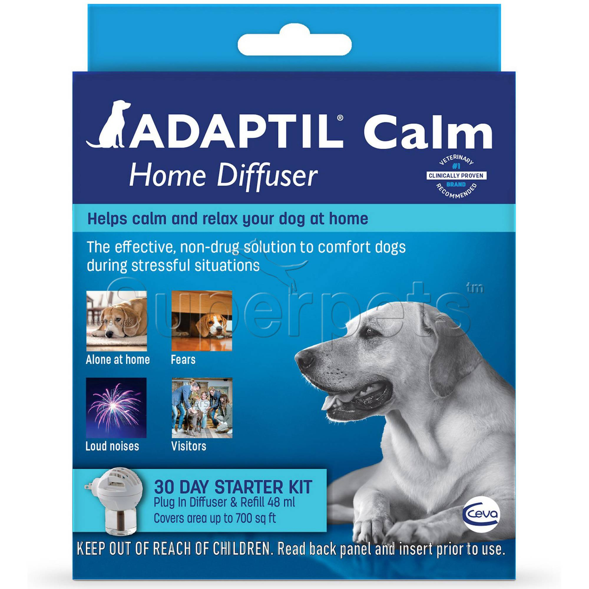 Adaptil Calm Home Diffuser + 48ml Vial