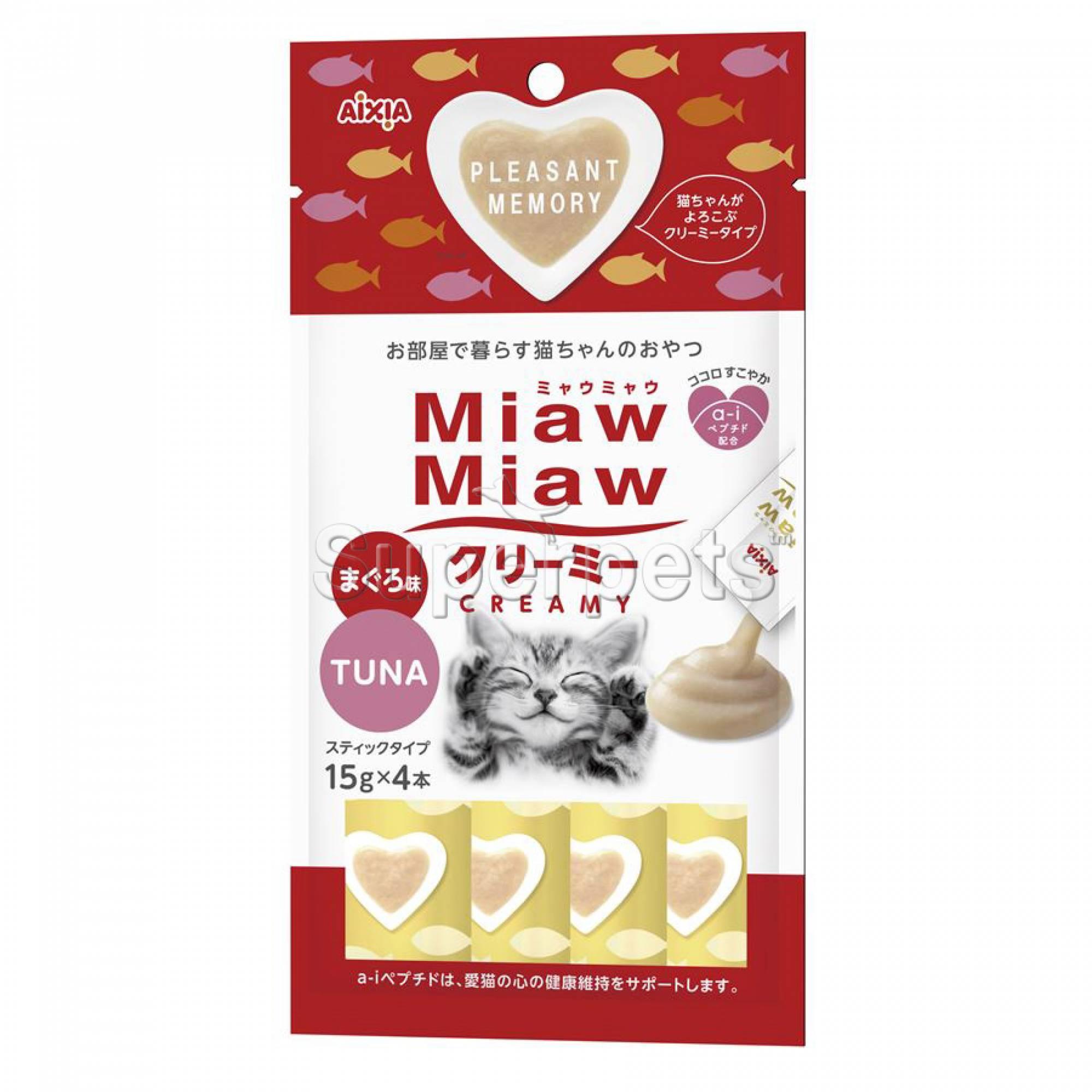 Aixia Miaw Miaw Creamy - Tuna 15g x 4pcs