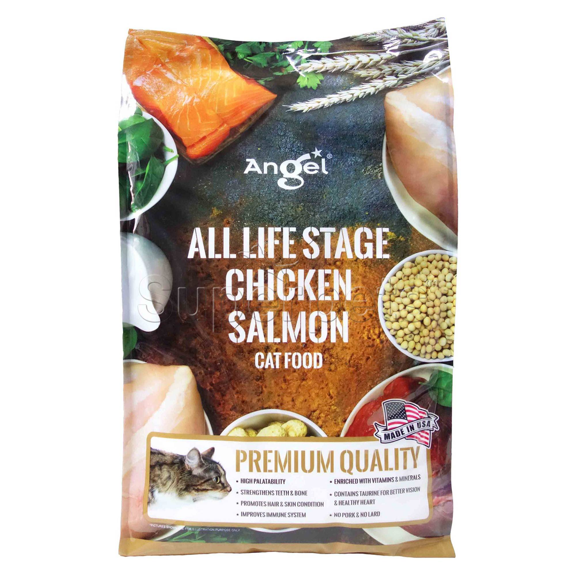 Angel - All Life Stages - Chicken and Salmon 4.8kg