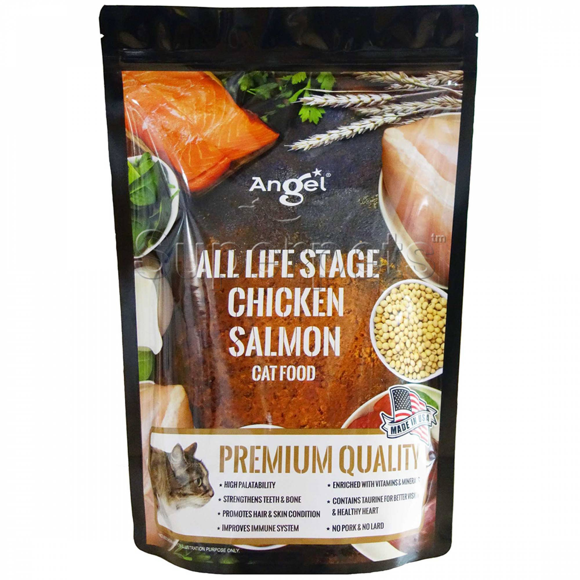 Angel - Chicken and Salmon Cat Food 1.1kg