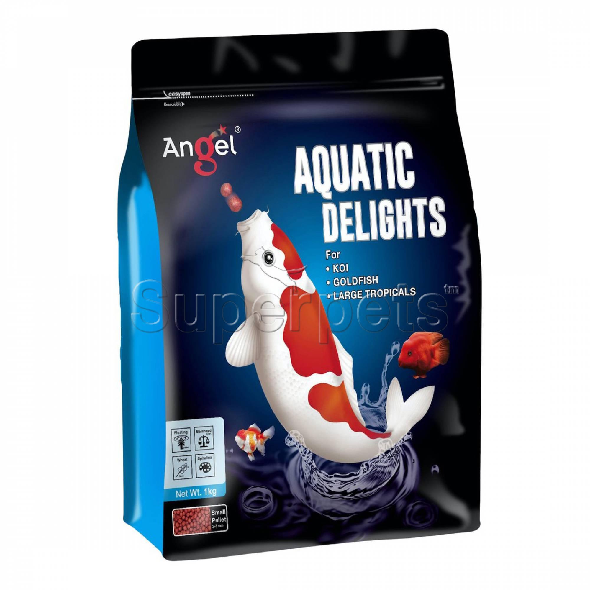Angel - Aquatic Delights Fish Food 1kg