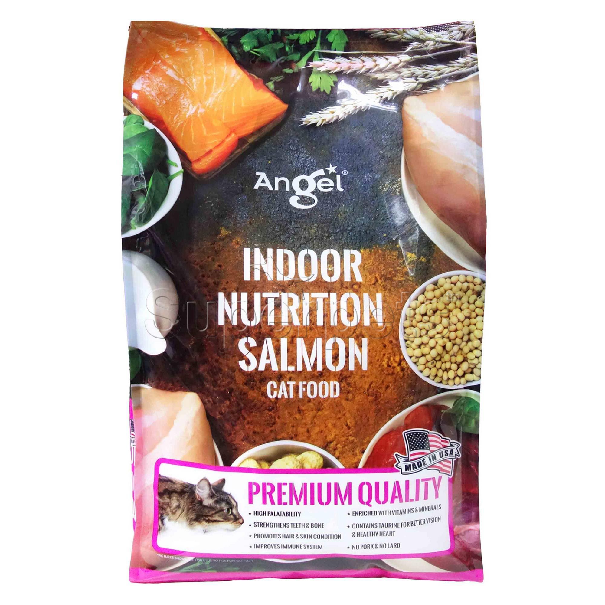 Angel - Indoor Nutrition Salmon Cat Food 4.8kg