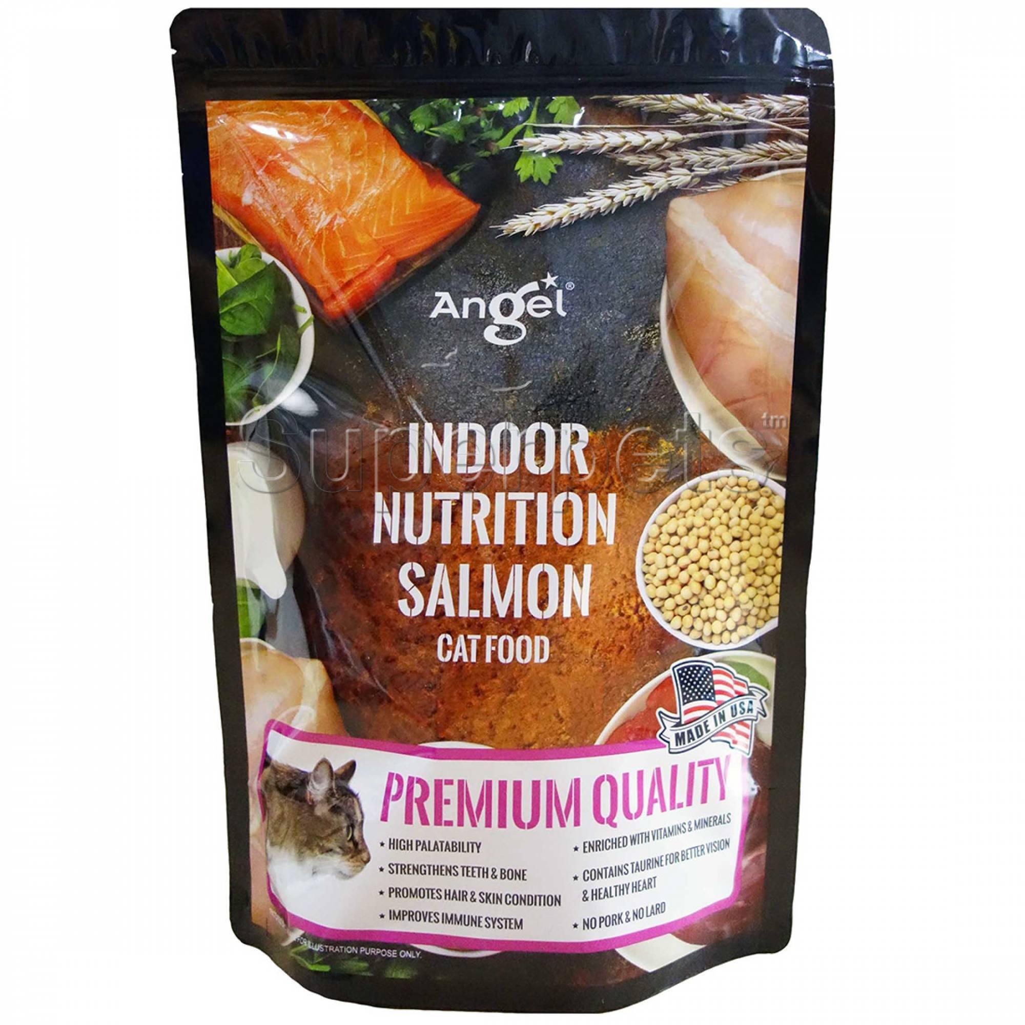 Angel - Indoor Nutrition Salmon Cat Food 1.1kg