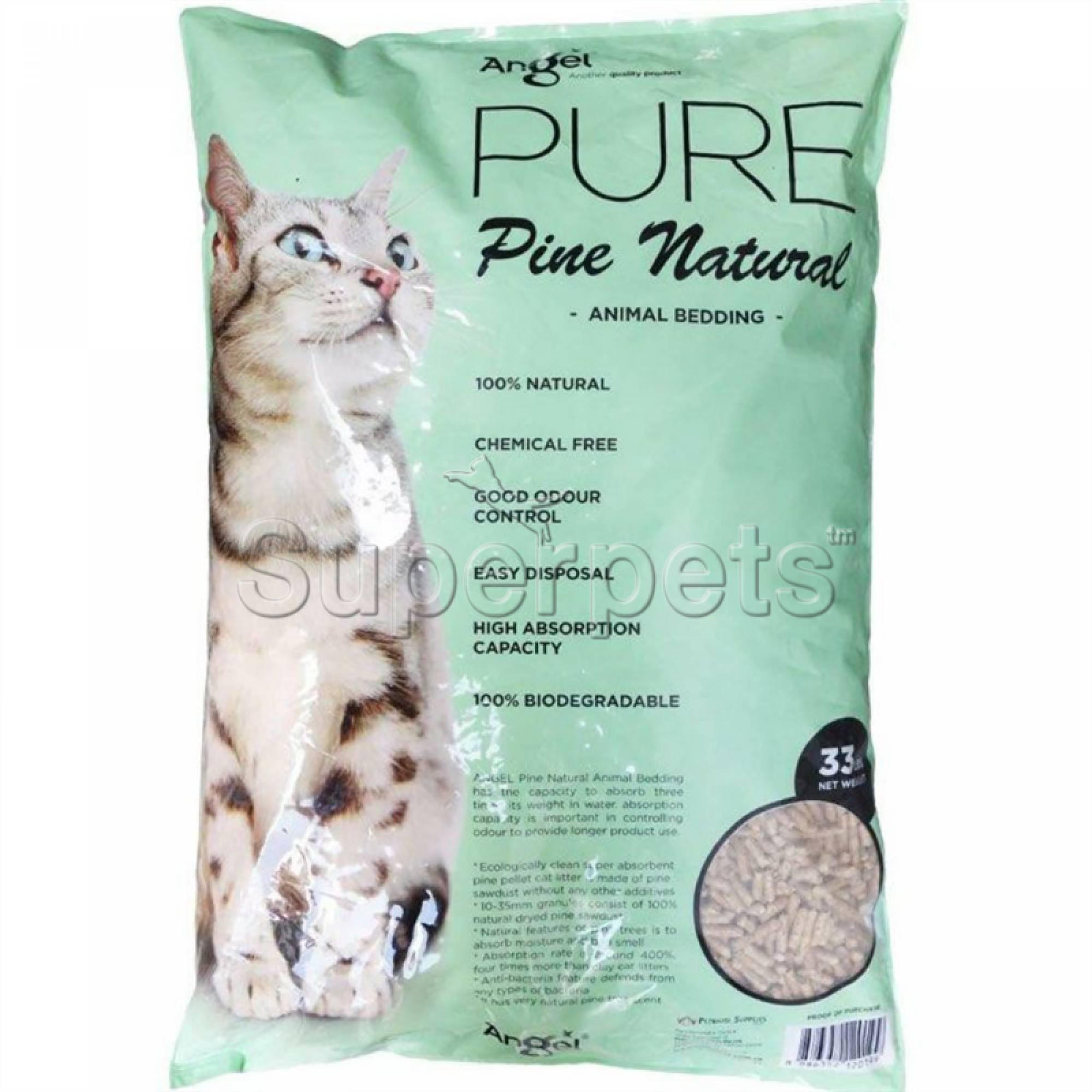 Angel - Pine Natural Cat Litter 33lb (15kg)