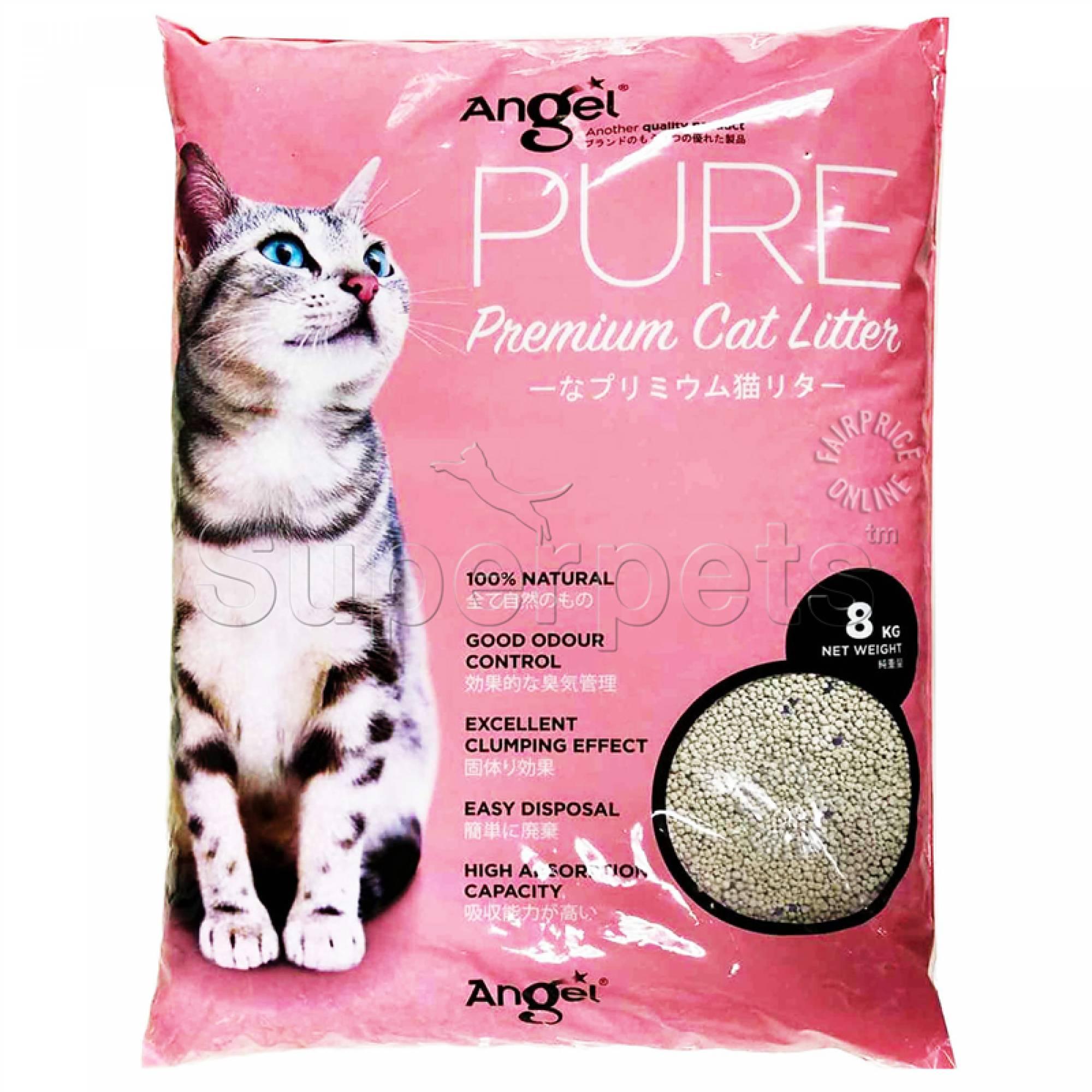 Angel - Pure Premium Cat Litter 8kg