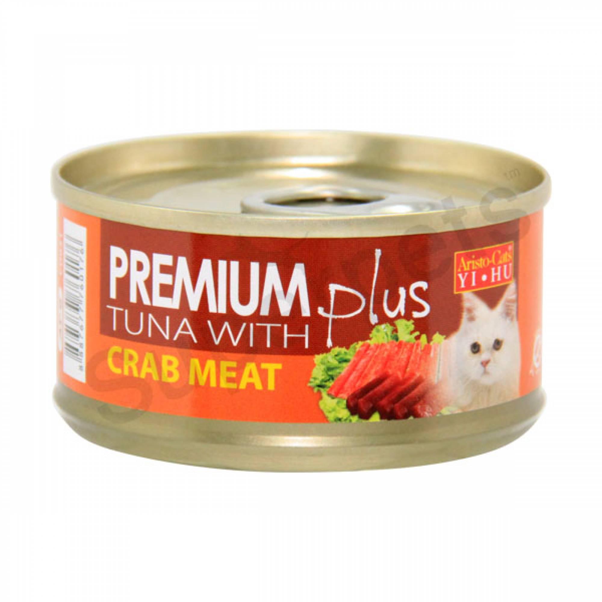 Aristo-Cats - Premium Plus - Tuna with Crab Meat 80g x 24pcs (1 carton)