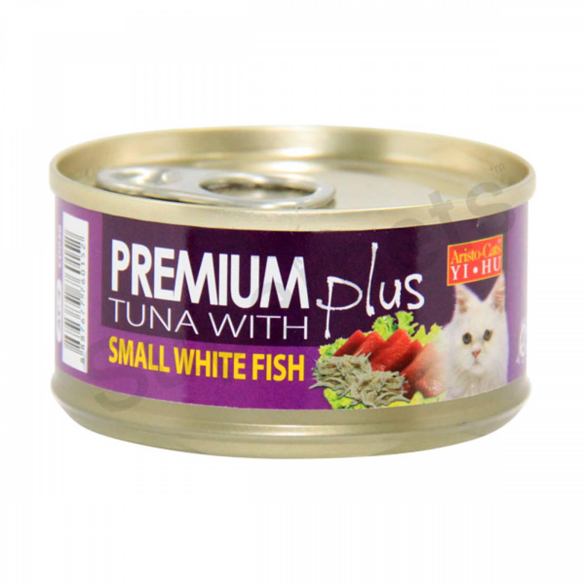 Aristo-Cats - Premium Plus - Tuna with Small White Fish 80g x 24pcs (1 carton)