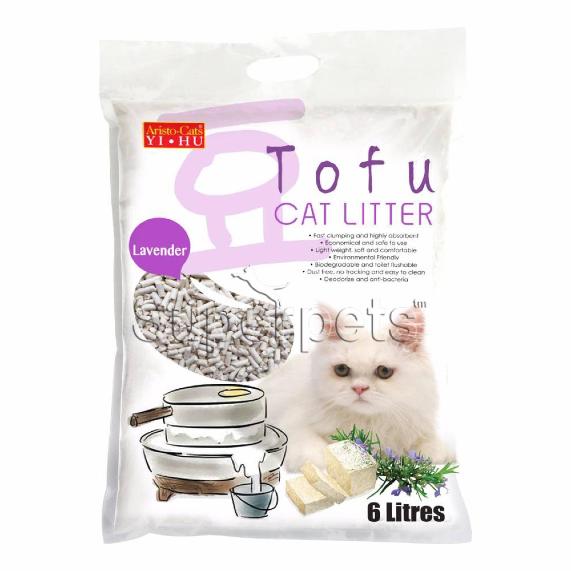 Aristo-Cats - Tofu Cat Litter - Lavender 6L