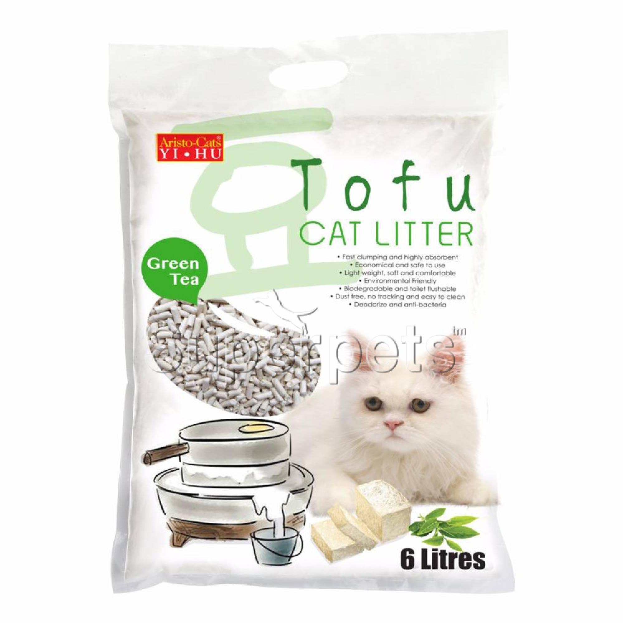 Aristo-Cats - Tofu Cat Litter - Green Tea 6L