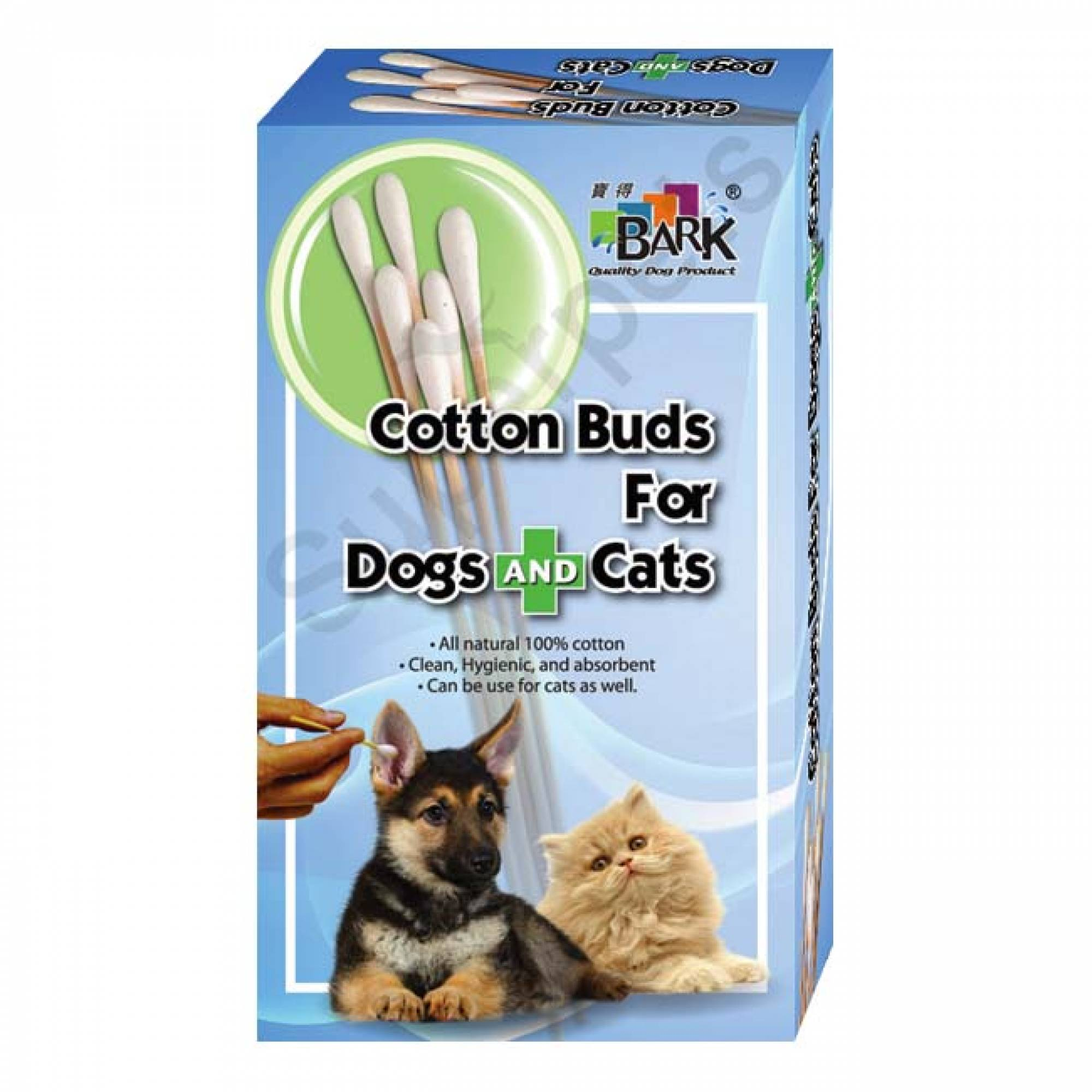 Bark - Cotton Buds for Dogs & Cats (L) 50pcs