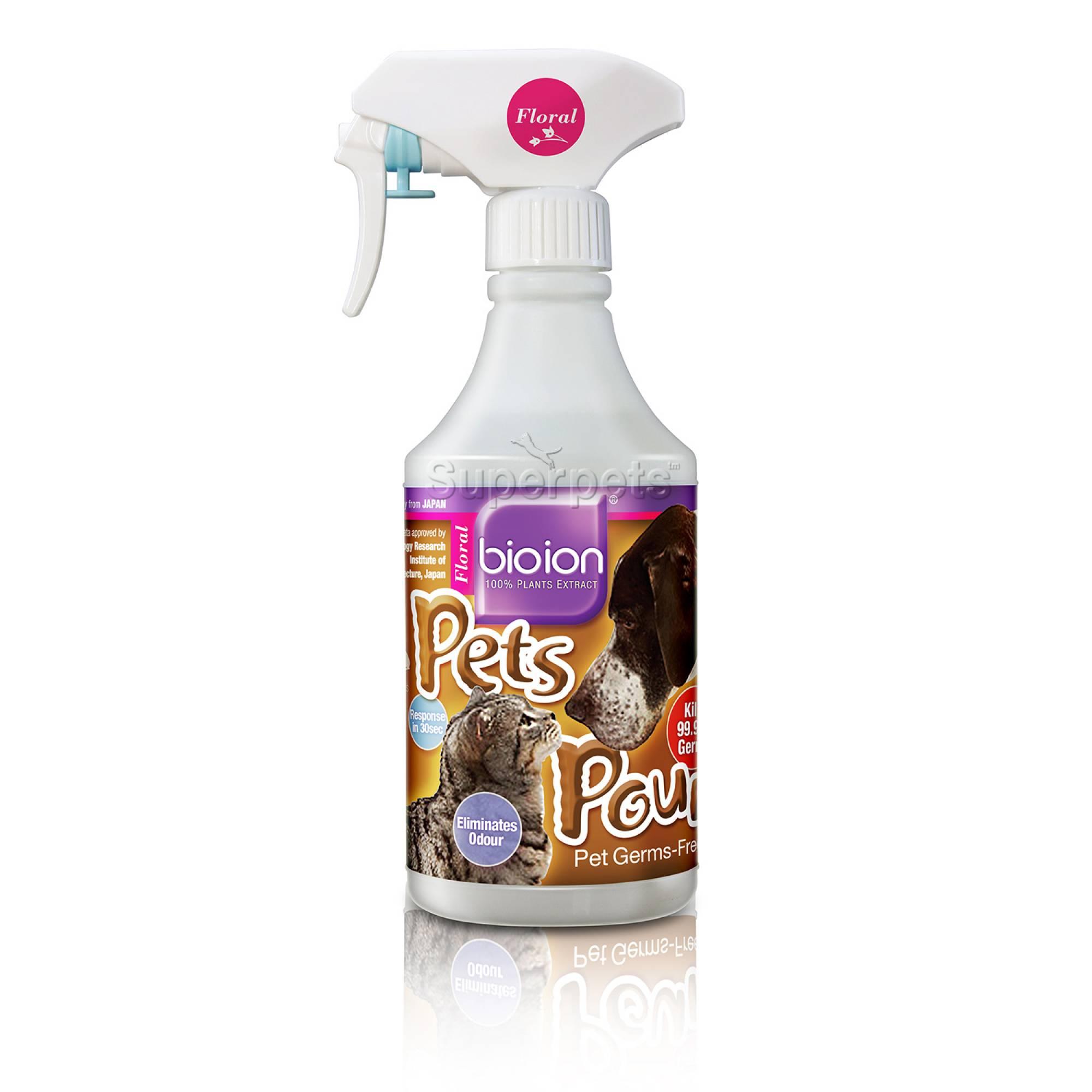 Bioion Pets Pounce Pets Sanitizer Flora 500ml