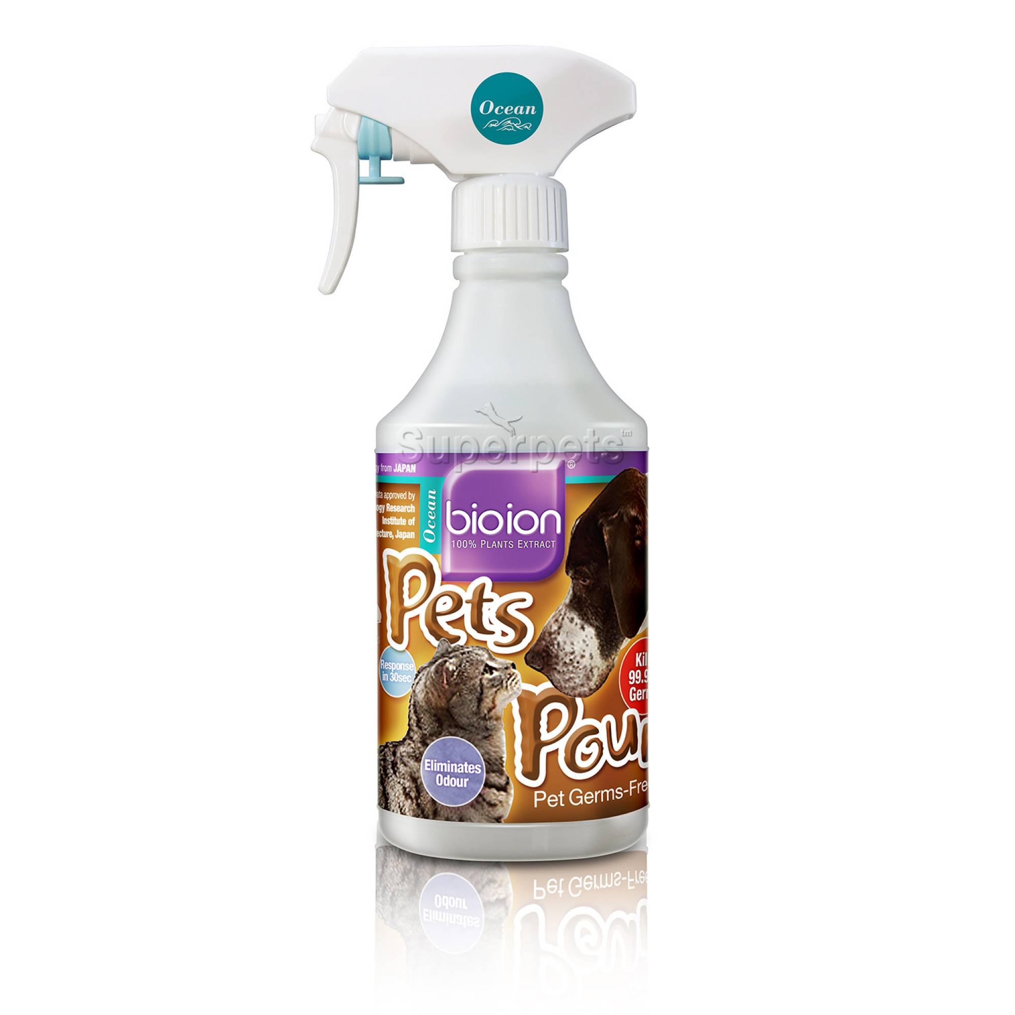 Bioion Pets Pounce Pets Sanitizer Ocean 500ml