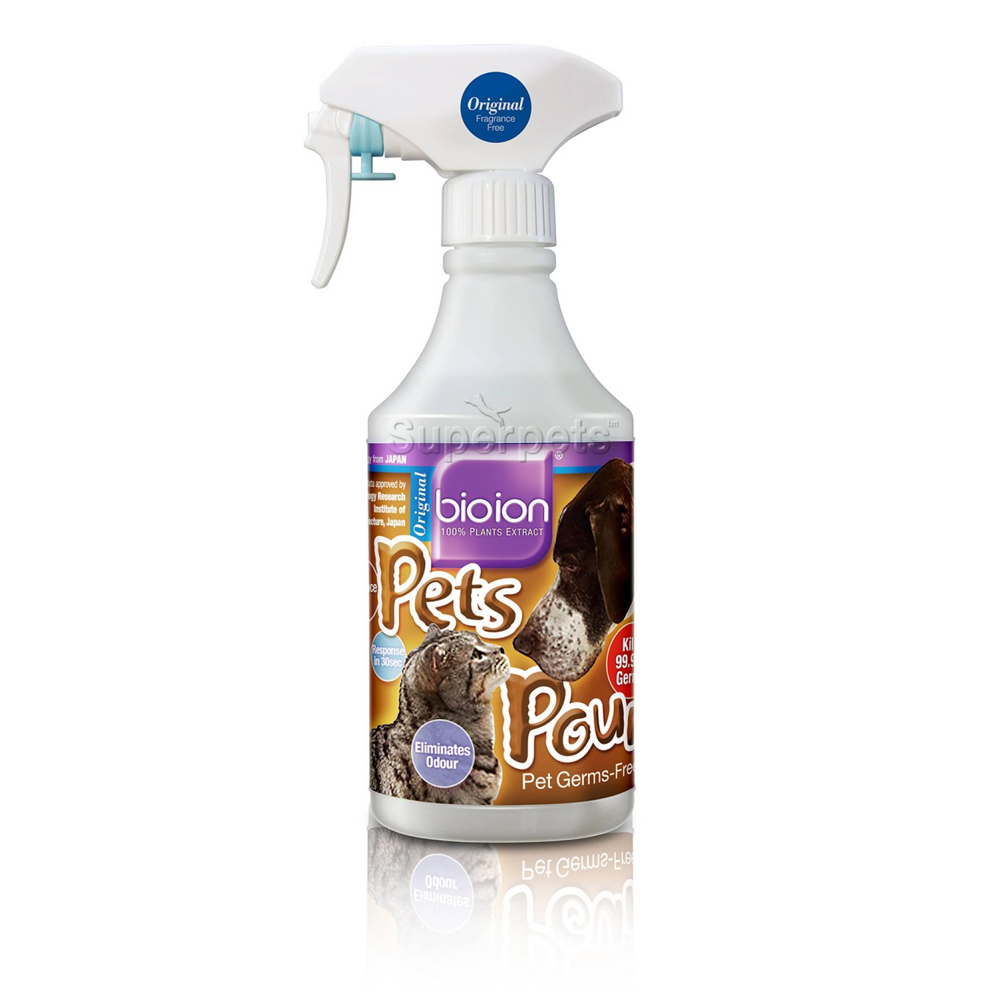 Bioion Pets Pounce Pets Sanitizer Natural 500ml