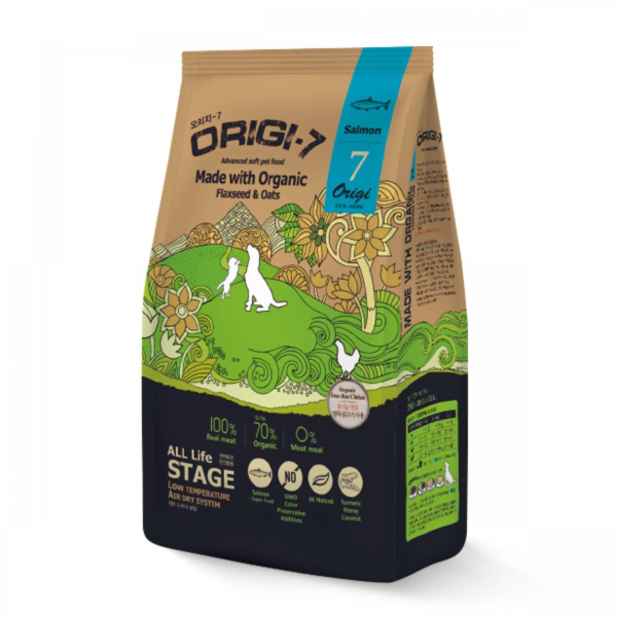 Bow Wow - Dog Origi-7 Air-Dried Advanced Soft Pet Food - Salmon 1.2kg (200g x 6 bags)