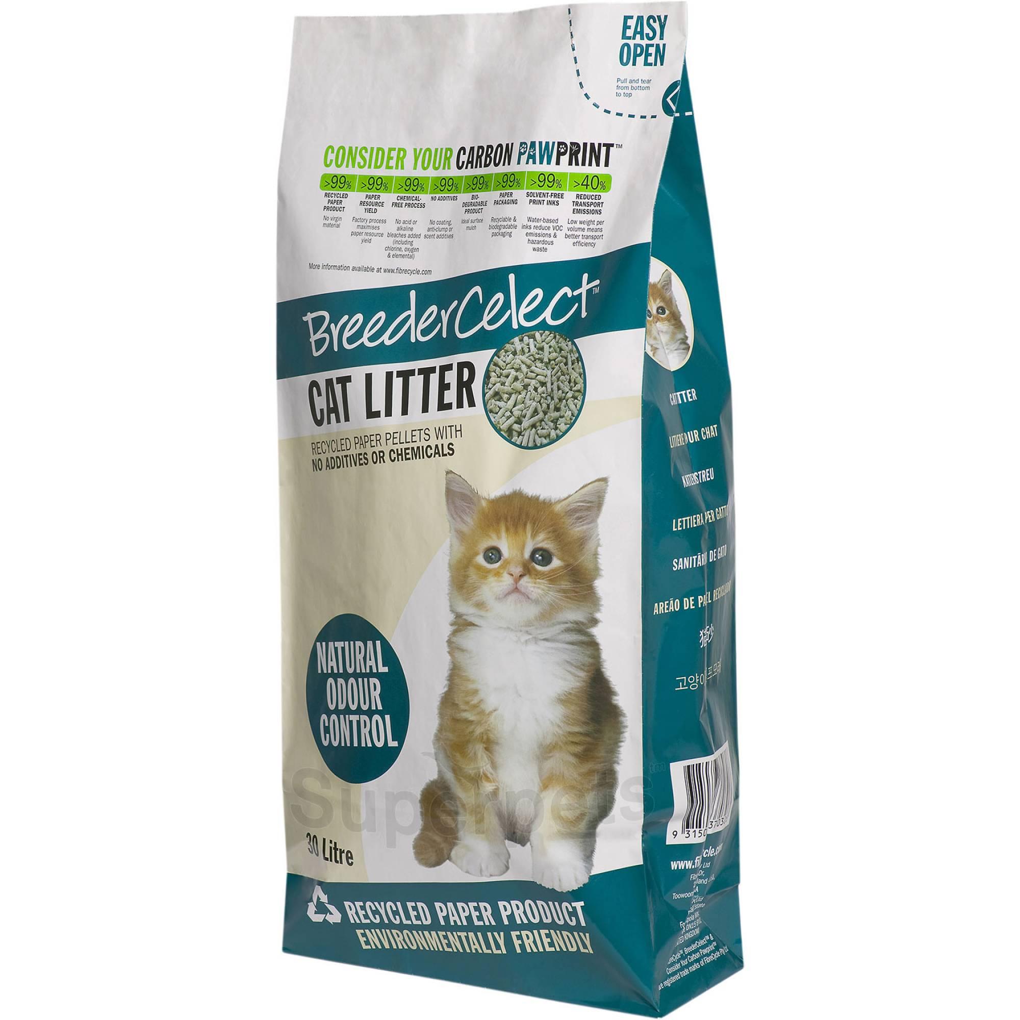 Breeder Celect - Cat Litter 30L