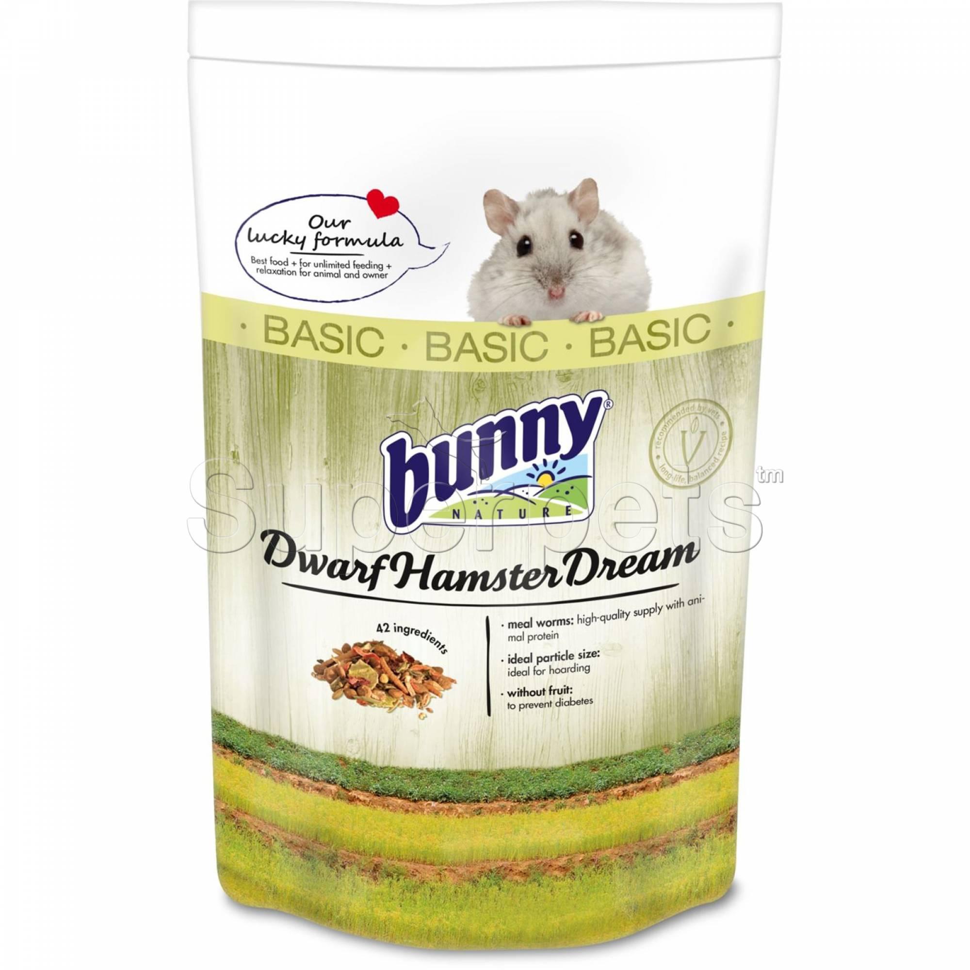 Bunny Nature Hamster Dream Basic 600g (BN25821)