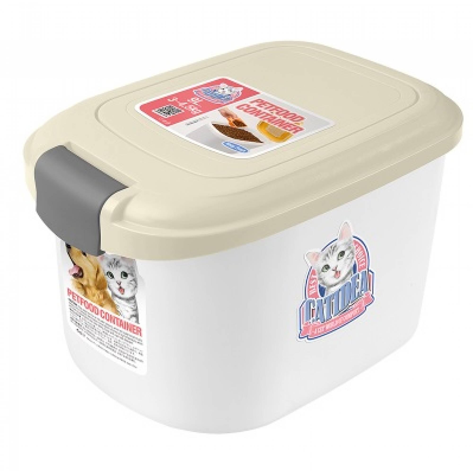 CATIDEA - CF101 Single Open Food Container - 3kg Cream