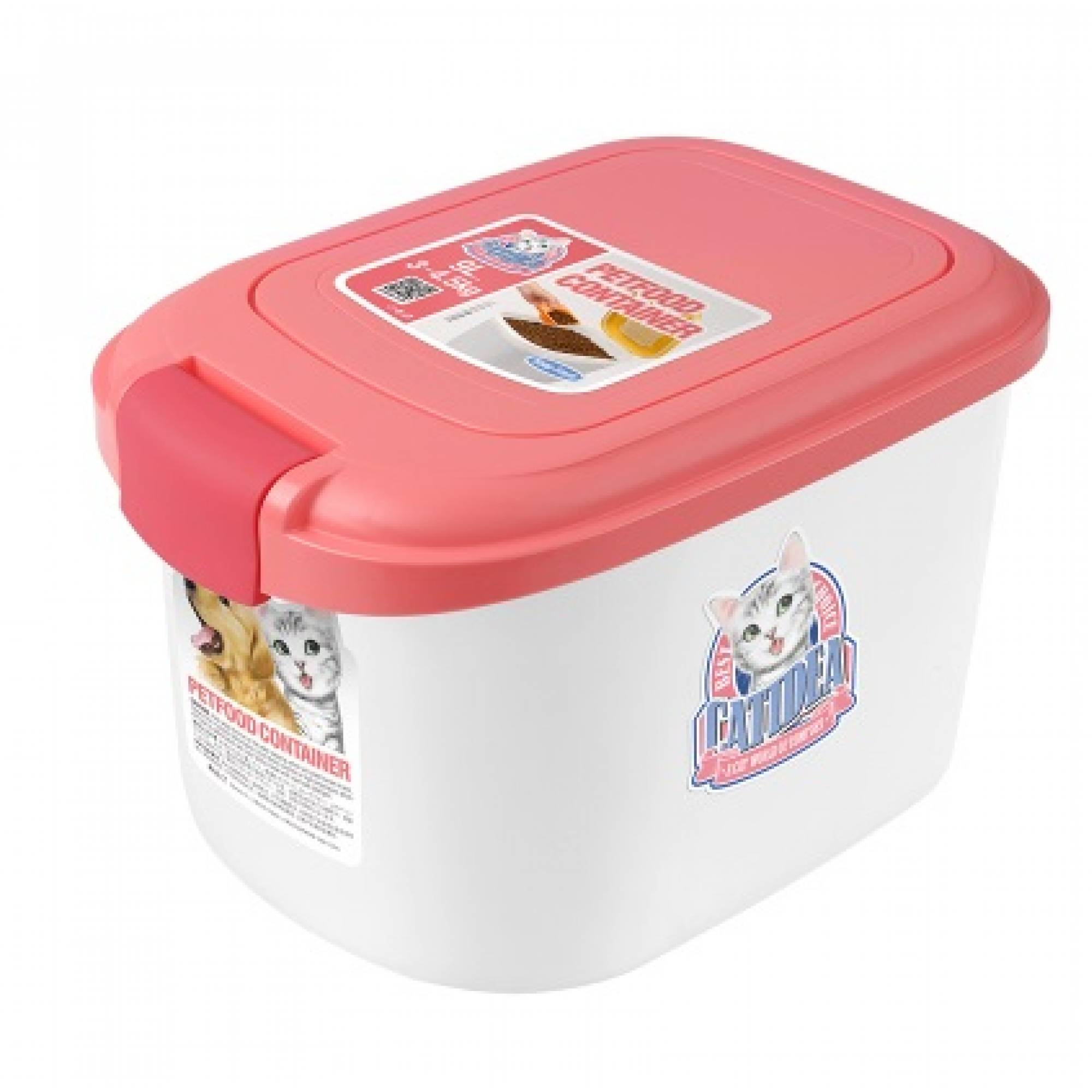 CATIDEA - CF101 Single Open Food Container - 3kg Pink