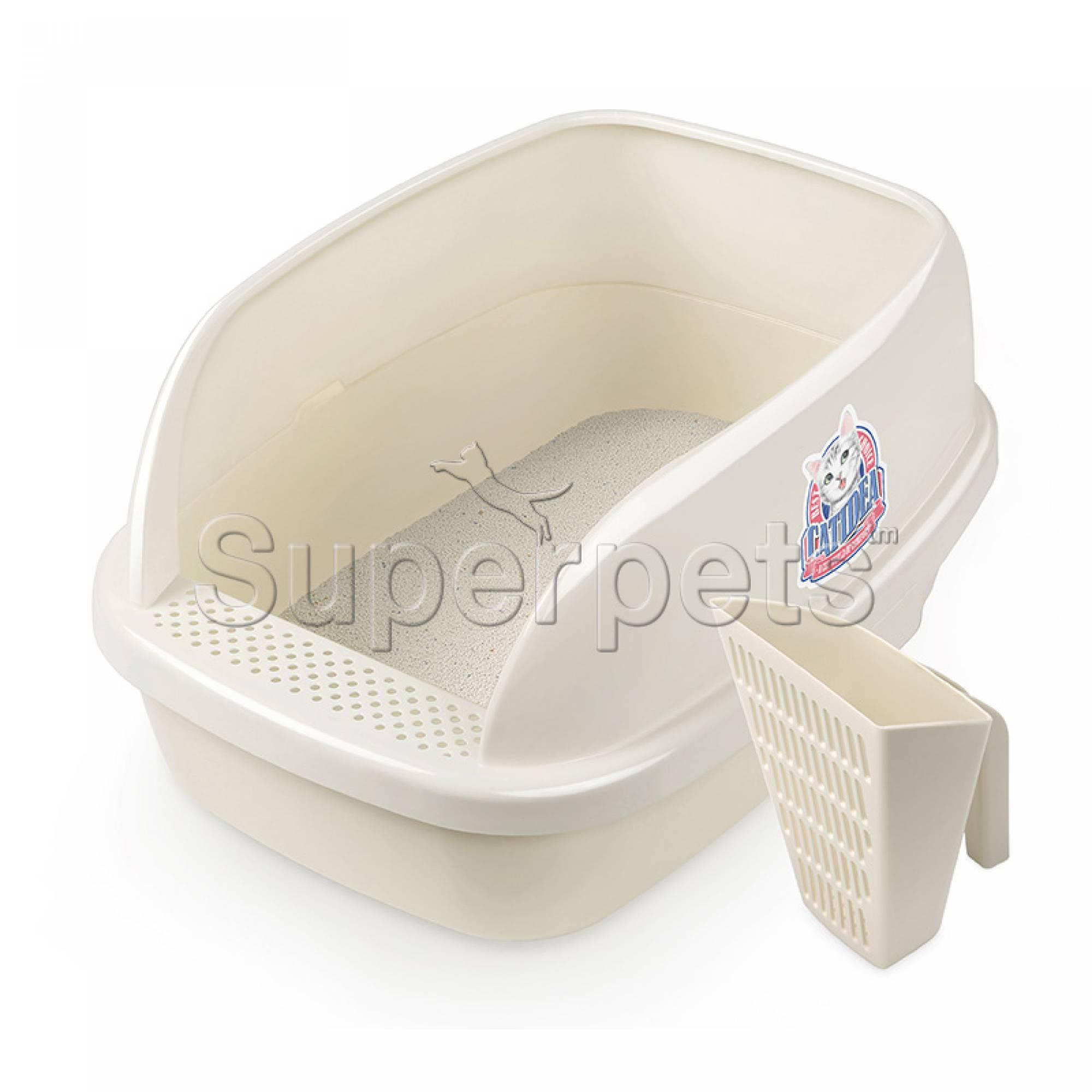 CATIDEA - CL212 Cat Litter Bread  & Scoop - Cream