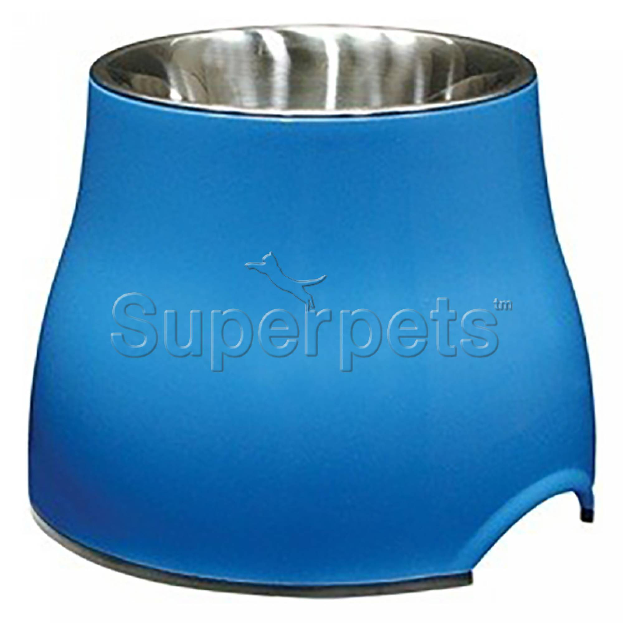 Dogit Elevated Dog Dish - Small Blue 300ml (73743)