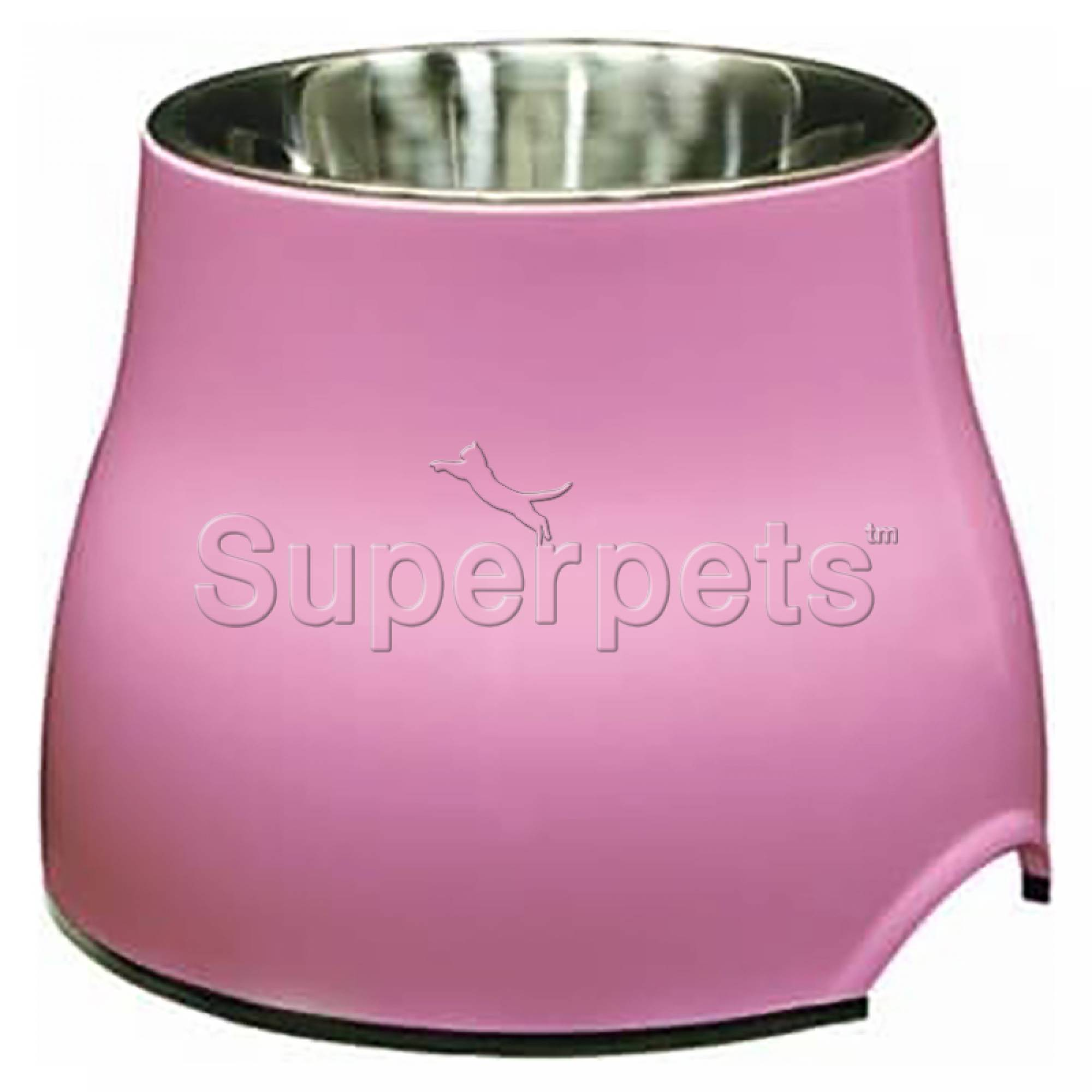 Dogit Elevated Dog Dish - Small Pink 300ml (73742)