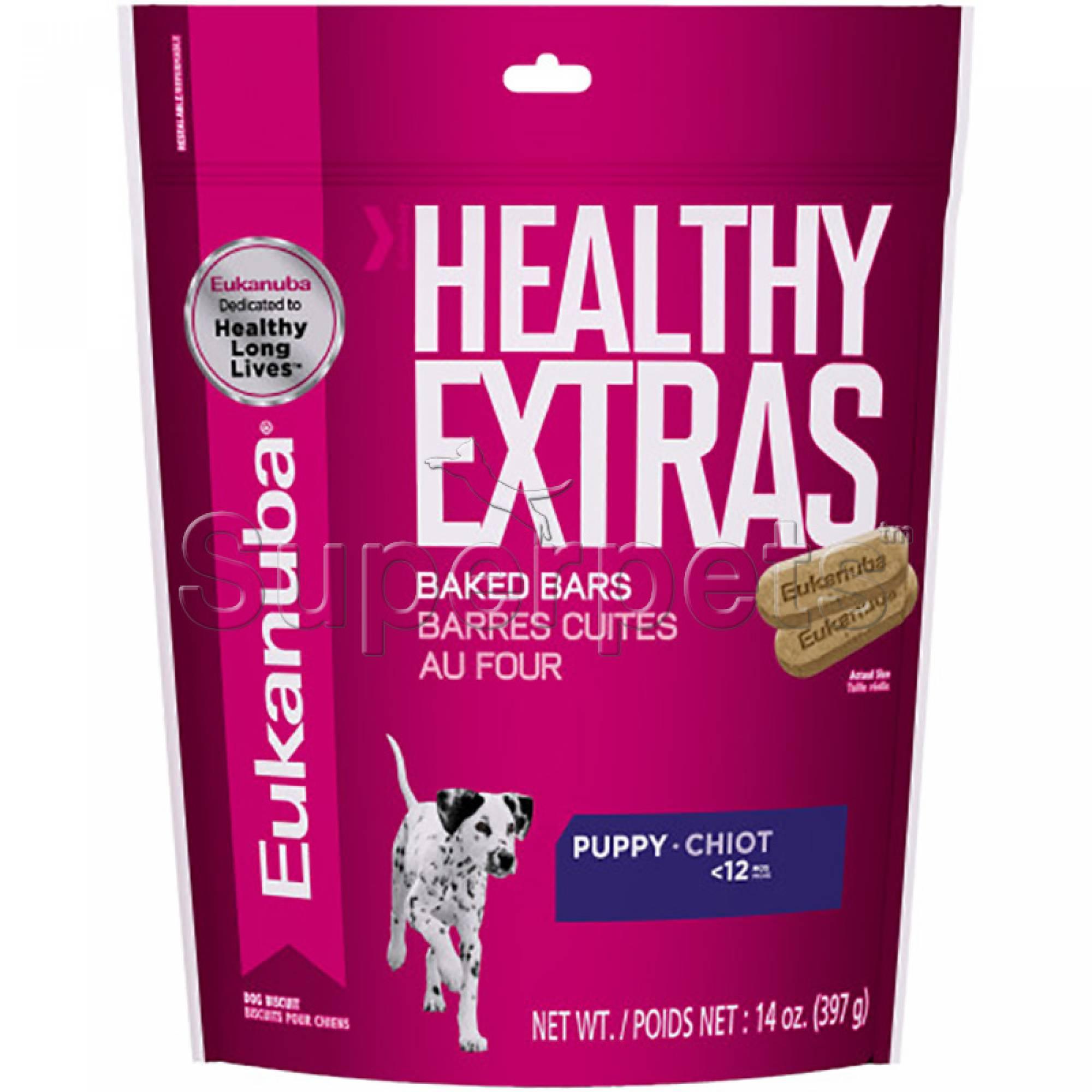 Eukanuba - Healthy Extras Baked Bars Puppy Treats 14oz (397g)