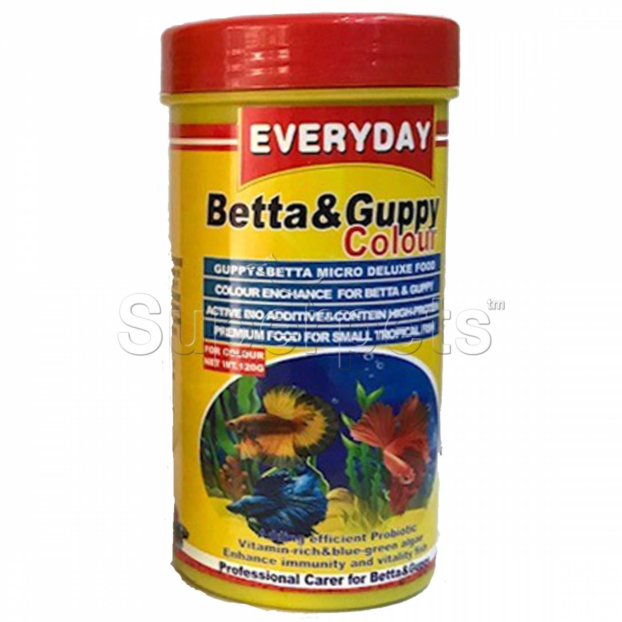 Everyday Betta & Guppy Food 125g (GFC250)