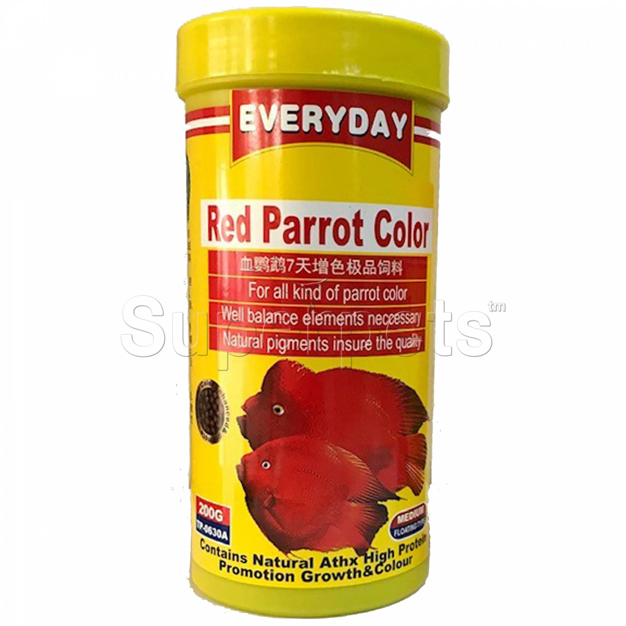 Everyday Red Parrot Food 200g (TP0630)