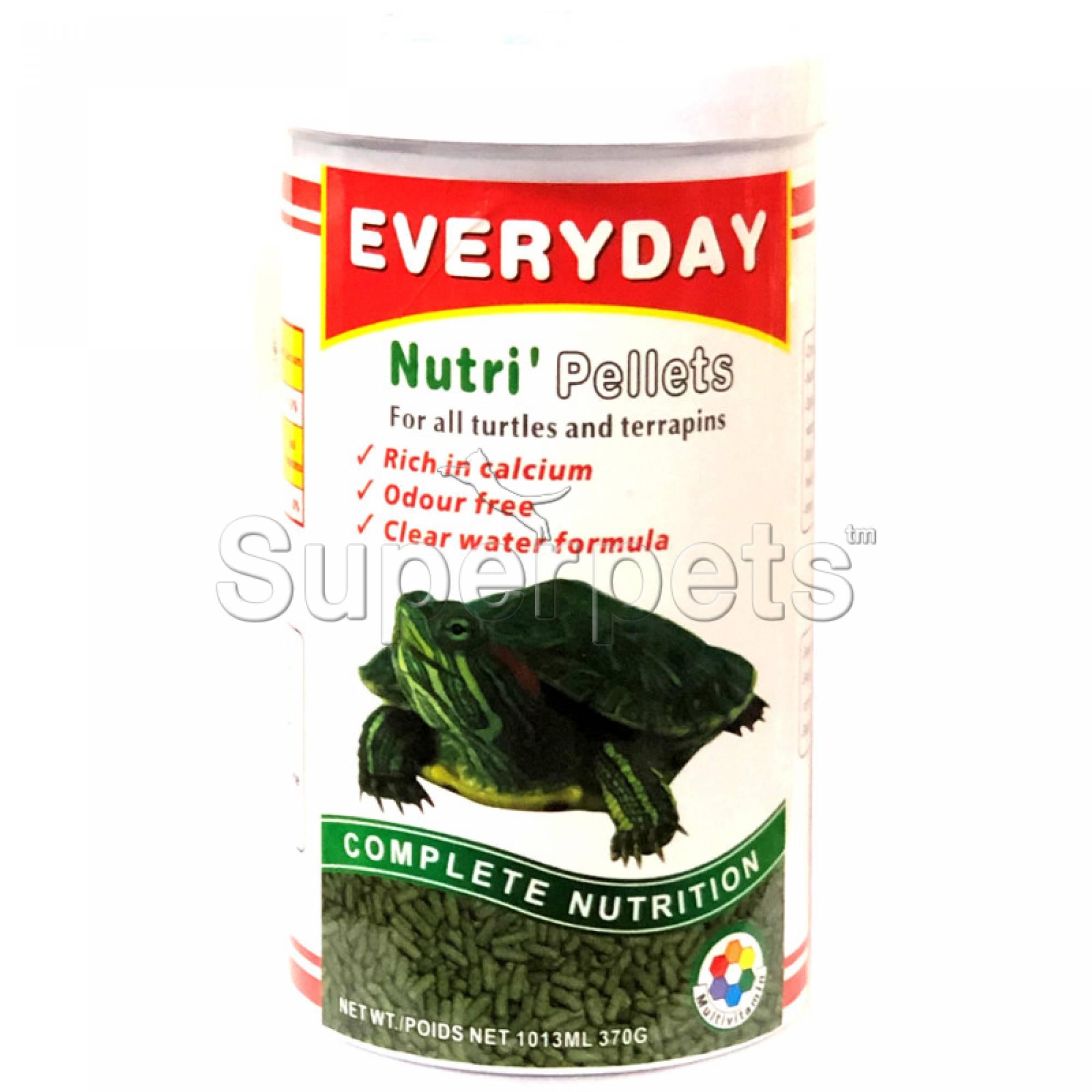 Everyday Turtle Pellets 370g (FF004)