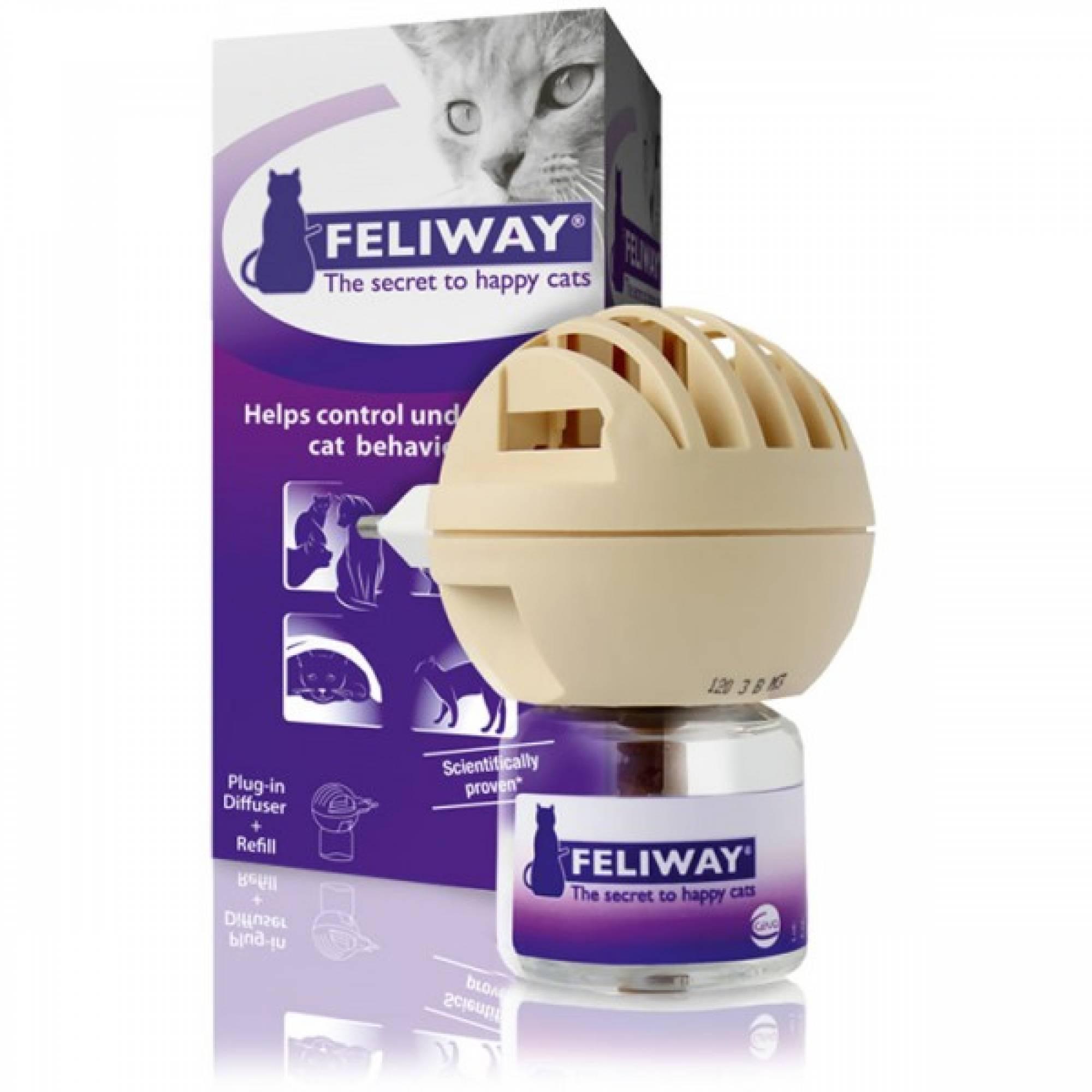 Feliway Electric Diffuser / Vial 48ml