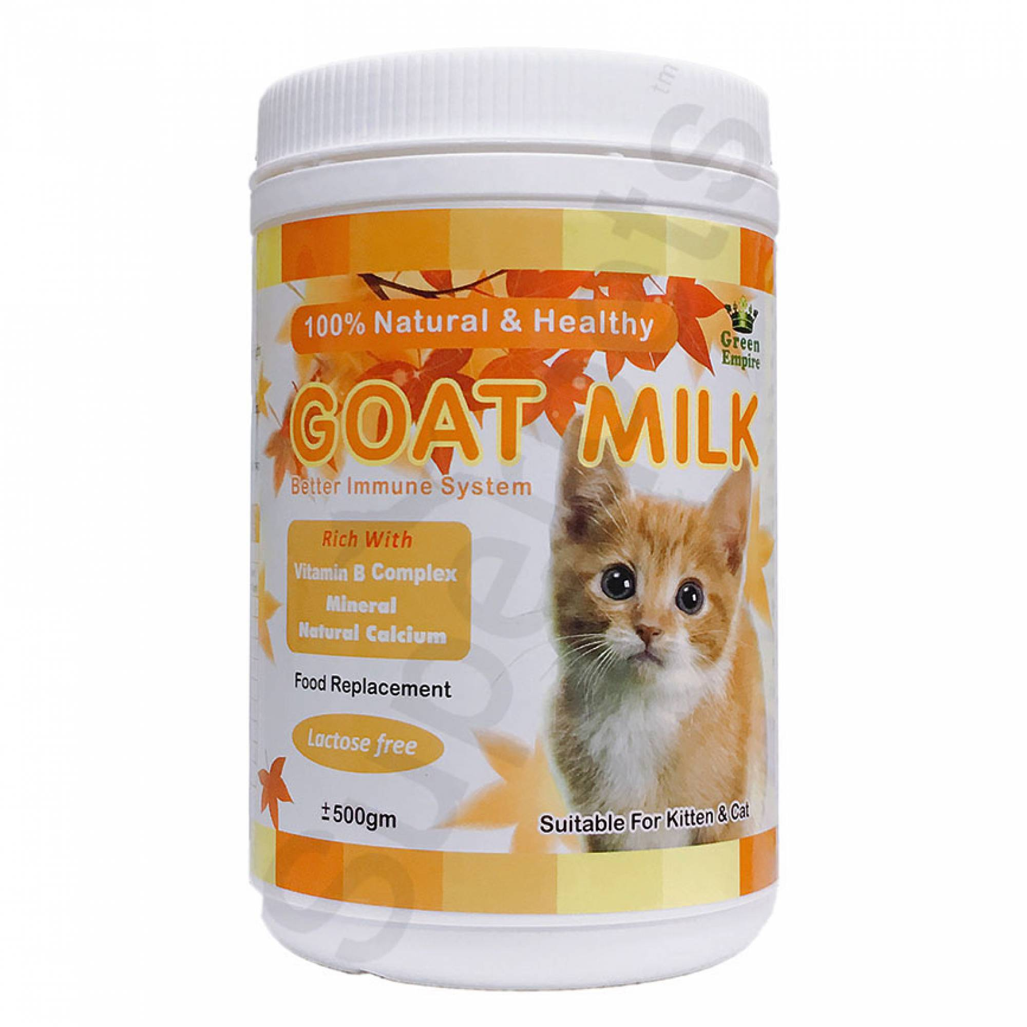 Green Empire Goat Milk Powder for Kitten and Cat 500g