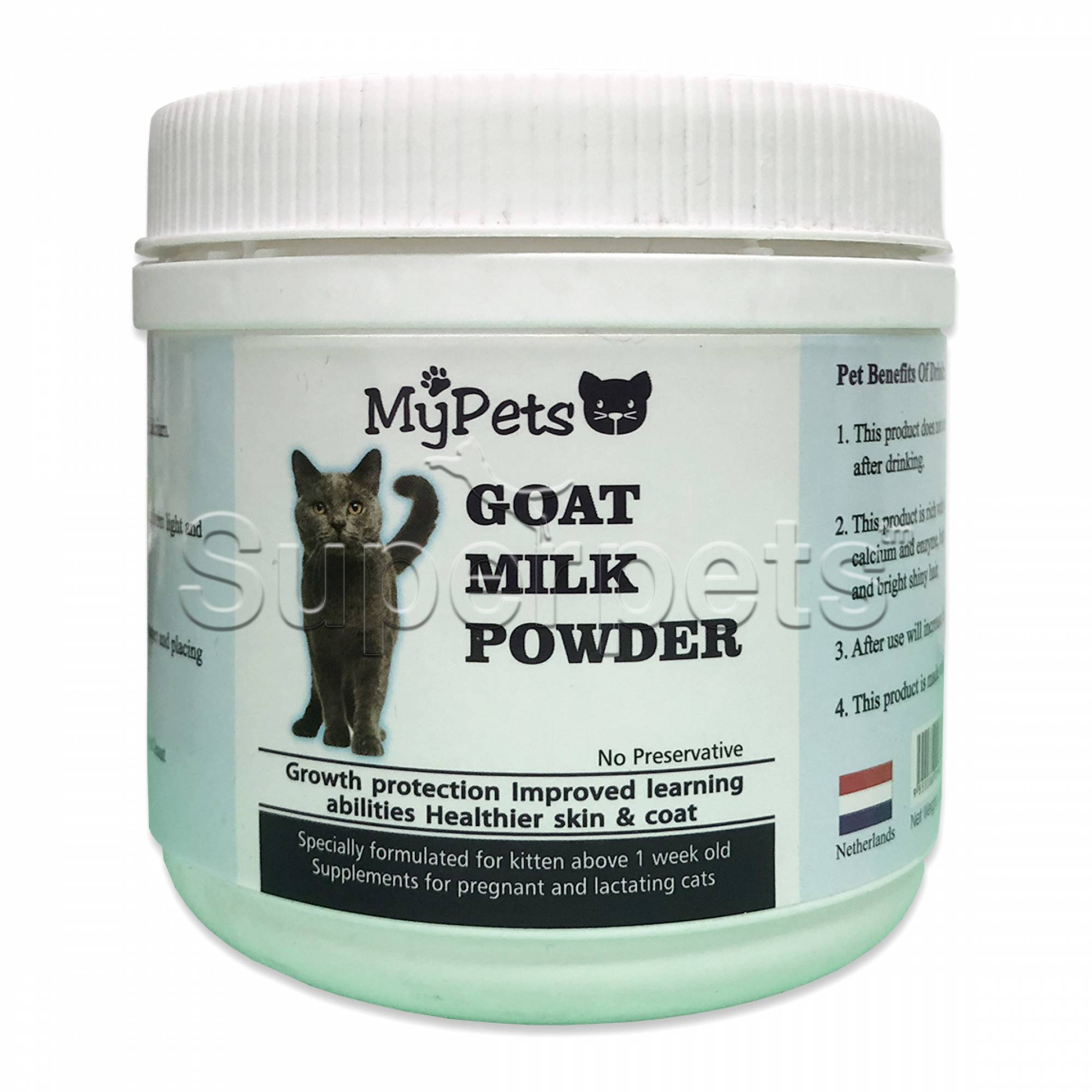 MyPets Goat Milk Powder for Kittens & Lactating Cats 250g
