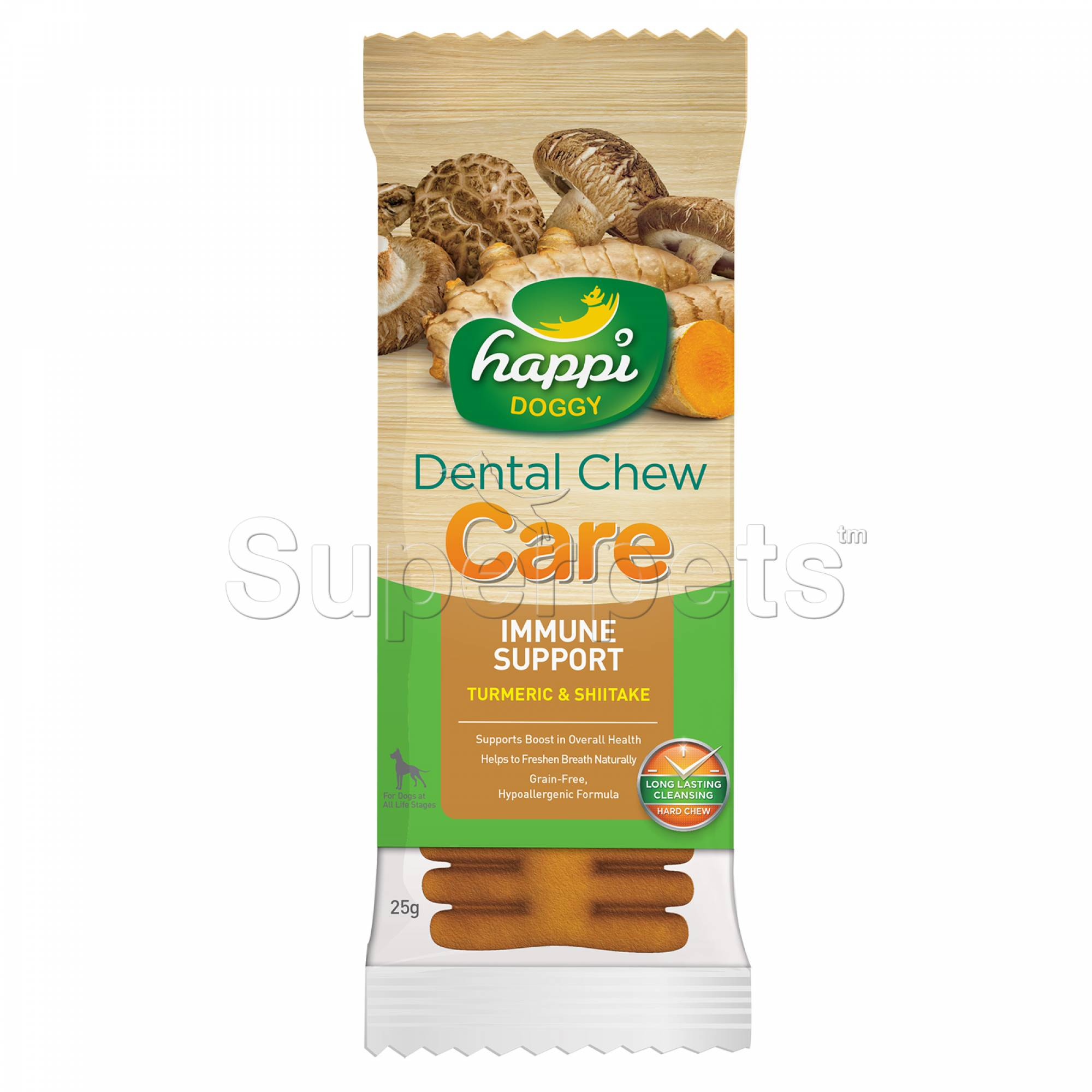 Happi Doggy H317 Dental Chew Care (Immune Support) 4inch 1pc
