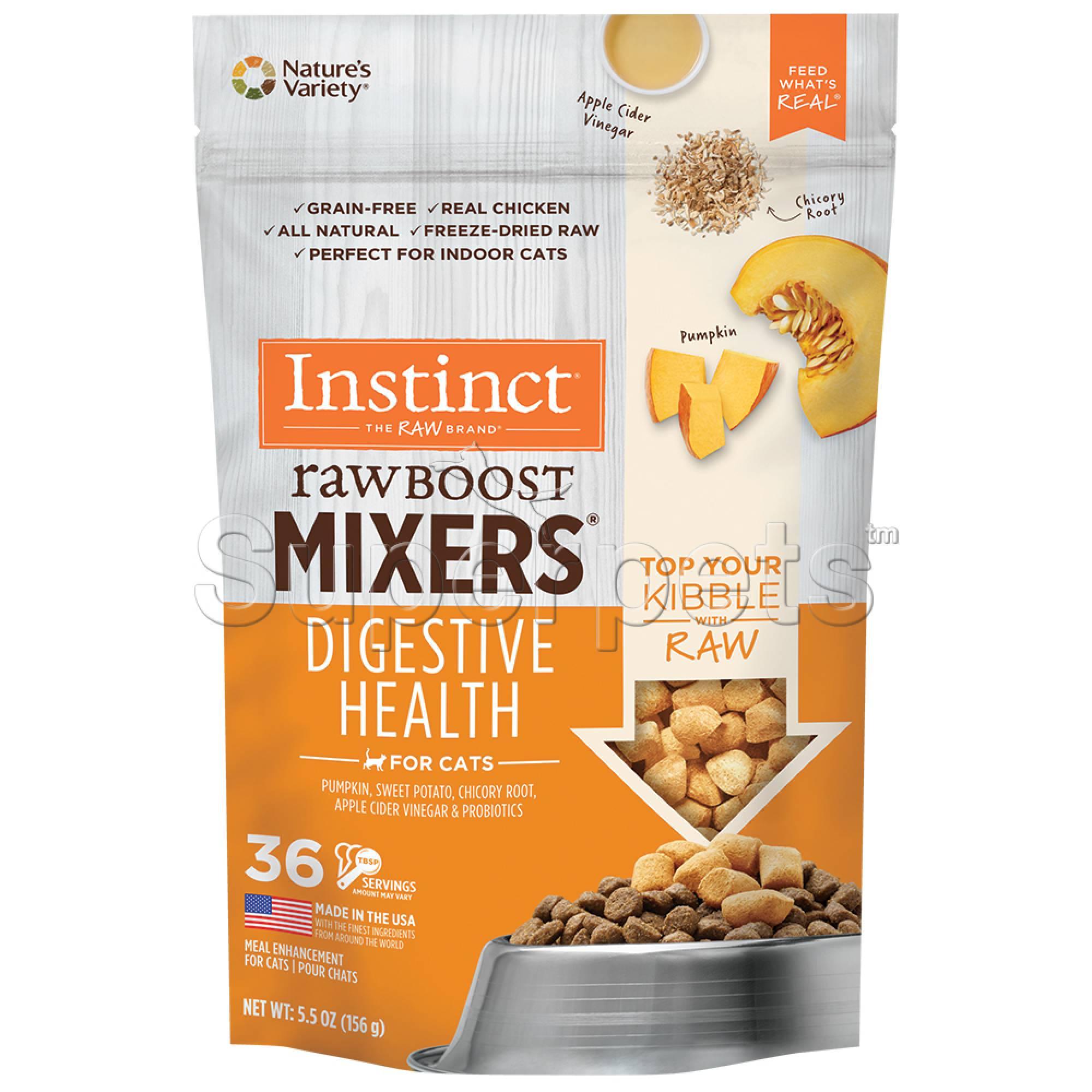 Instinct - Cat Freeze-Dried Raw Boost Mixers Grain-Free Digestive Health Recipe 5.5oz (156g)