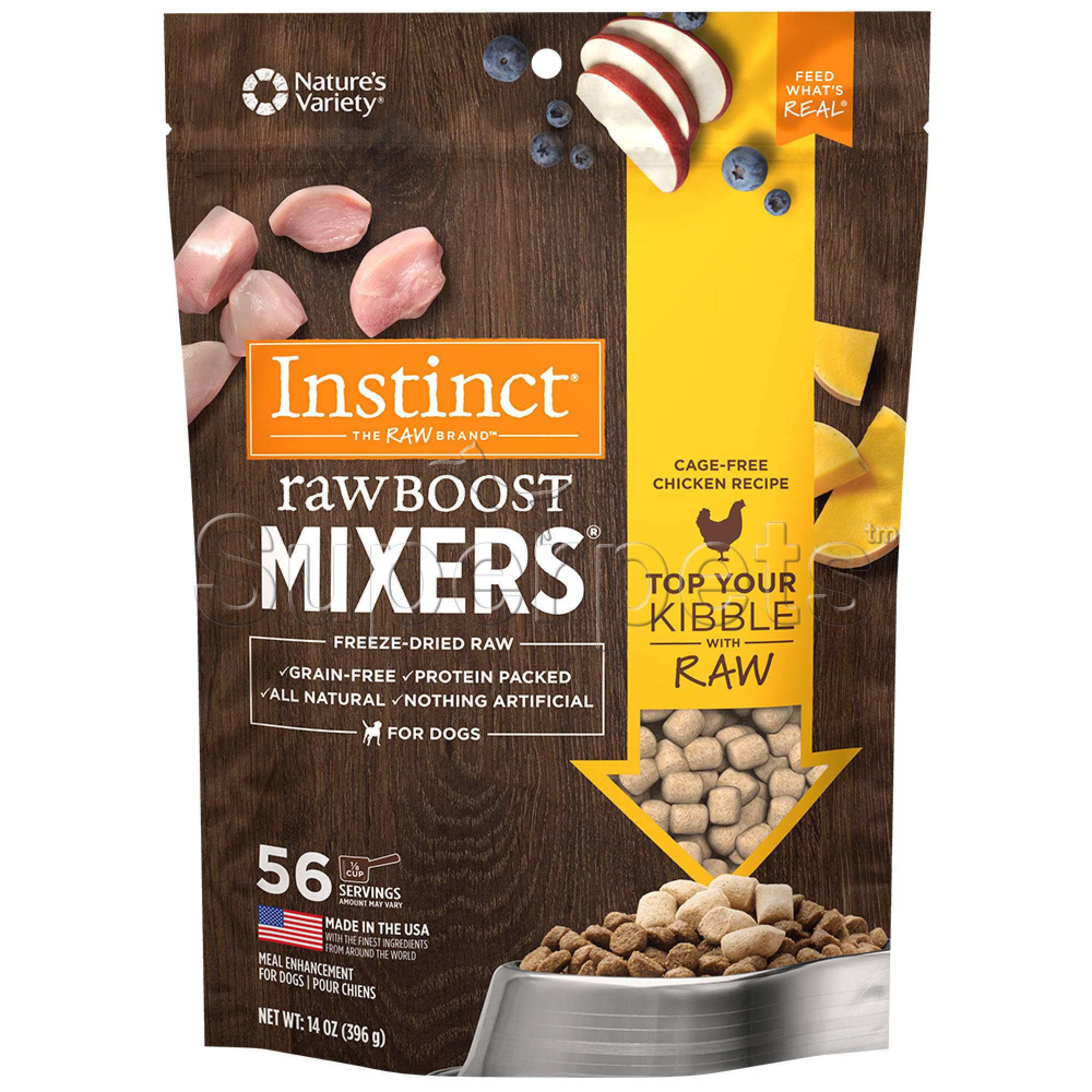 Instinct - Dog Freeze-Dried Raw Boost Mixers Grain-Free Chicken 14oz (397g)