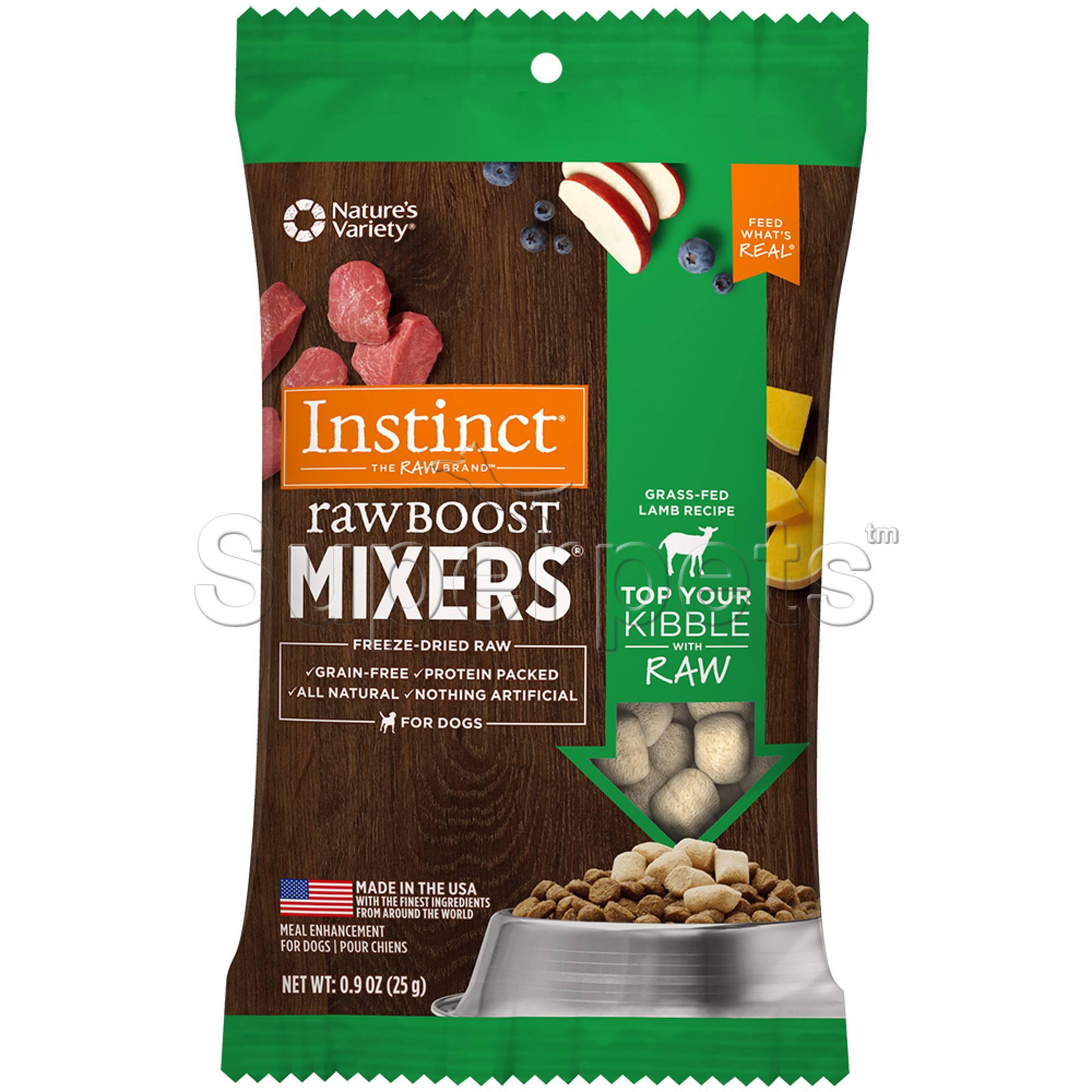 Instinct - Dog Freeze-Dried Raw Boost Mixers Grain-Free Lamb 0.9oz (25g)