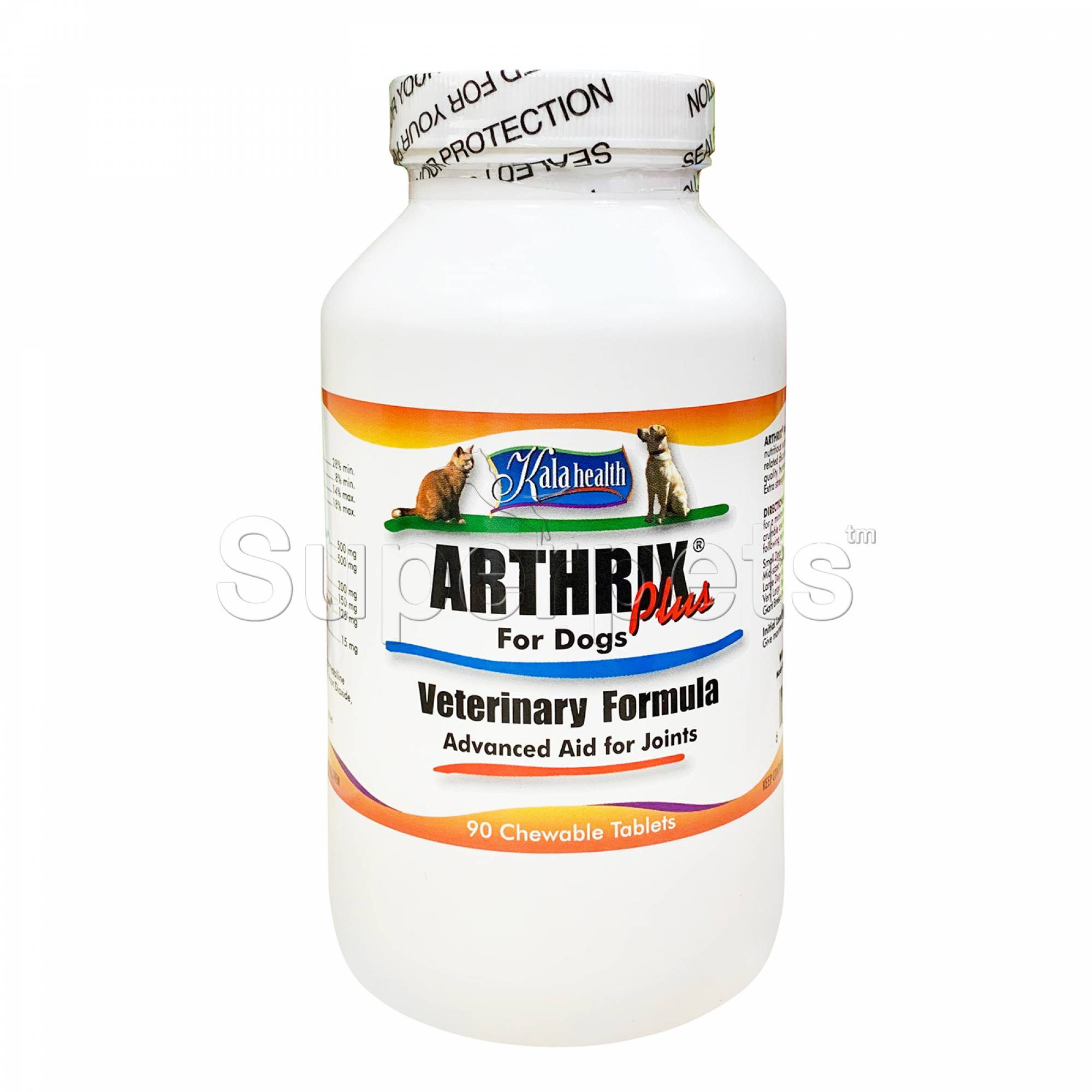 Kala Health - Arthrix Plus for Dogs 90 Tablets