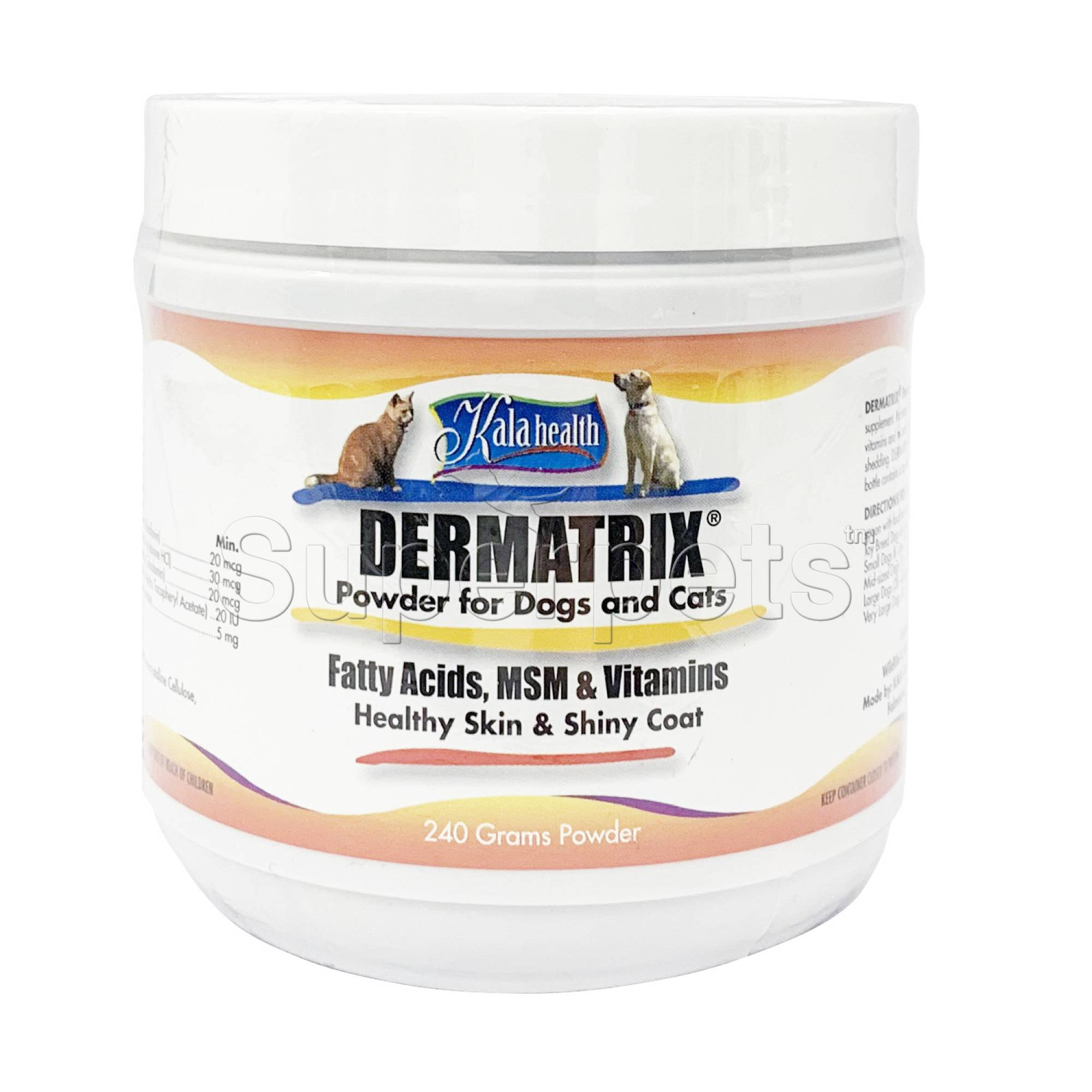 Kala Health - Dermatrix Plus for Dogs and Cats 240g